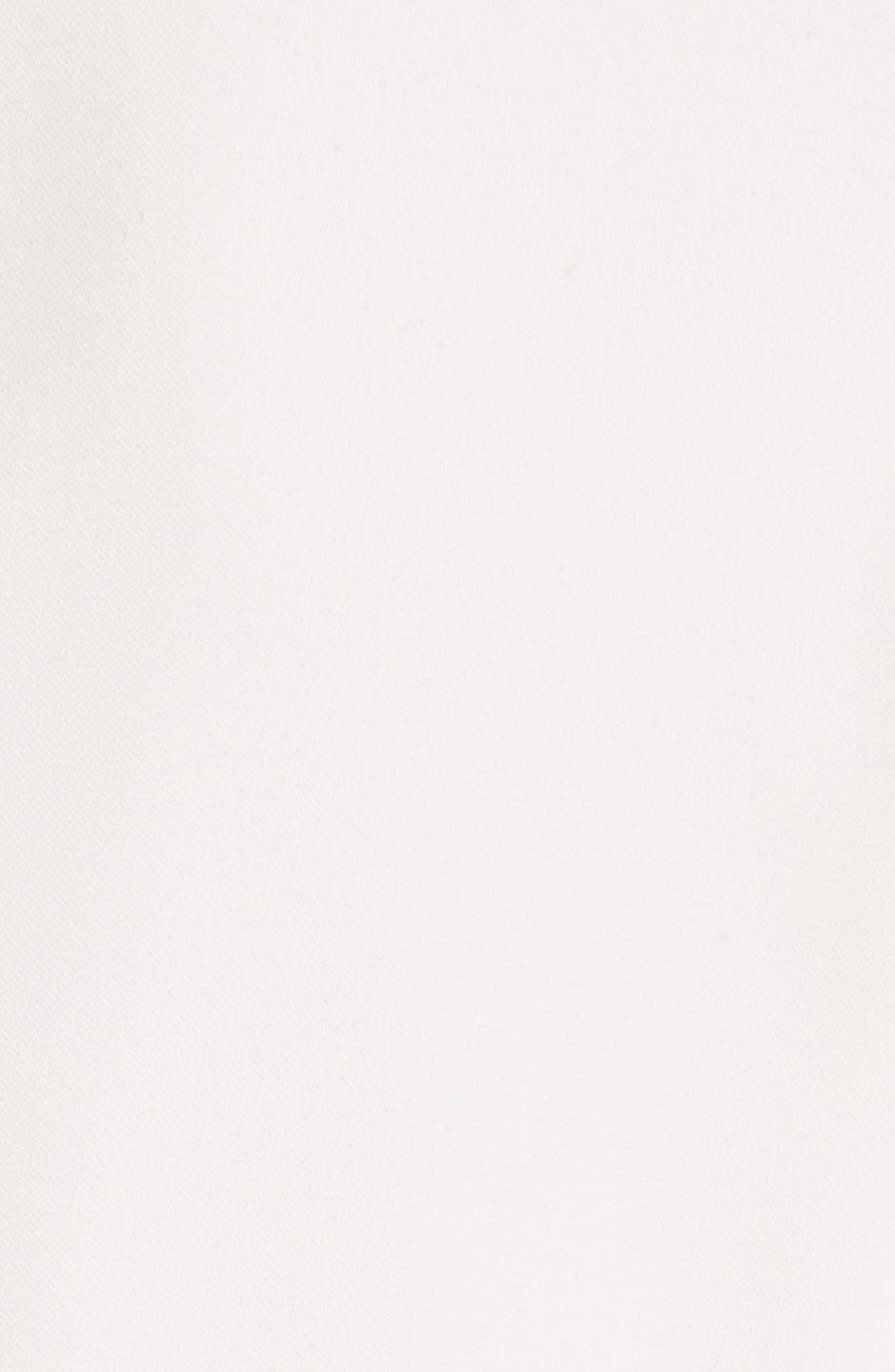 Carmen Belted Shirtdress,                             Alternate thumbnail 6, color,                             Off White