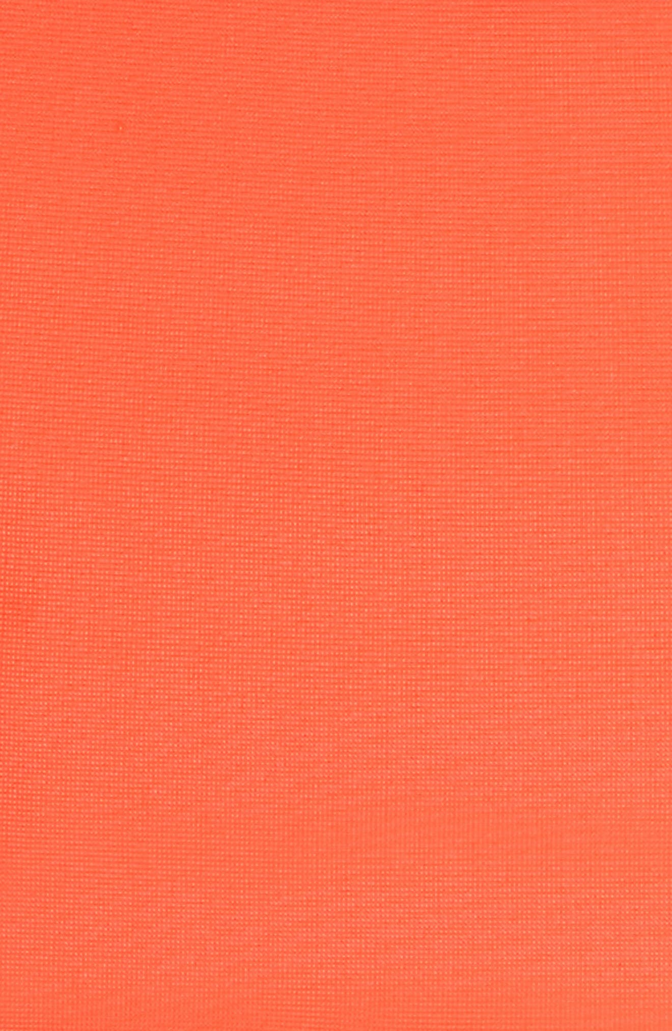 Skim Bikini Top,                             Alternate thumbnail 5, color,                             Neon Lava Orange