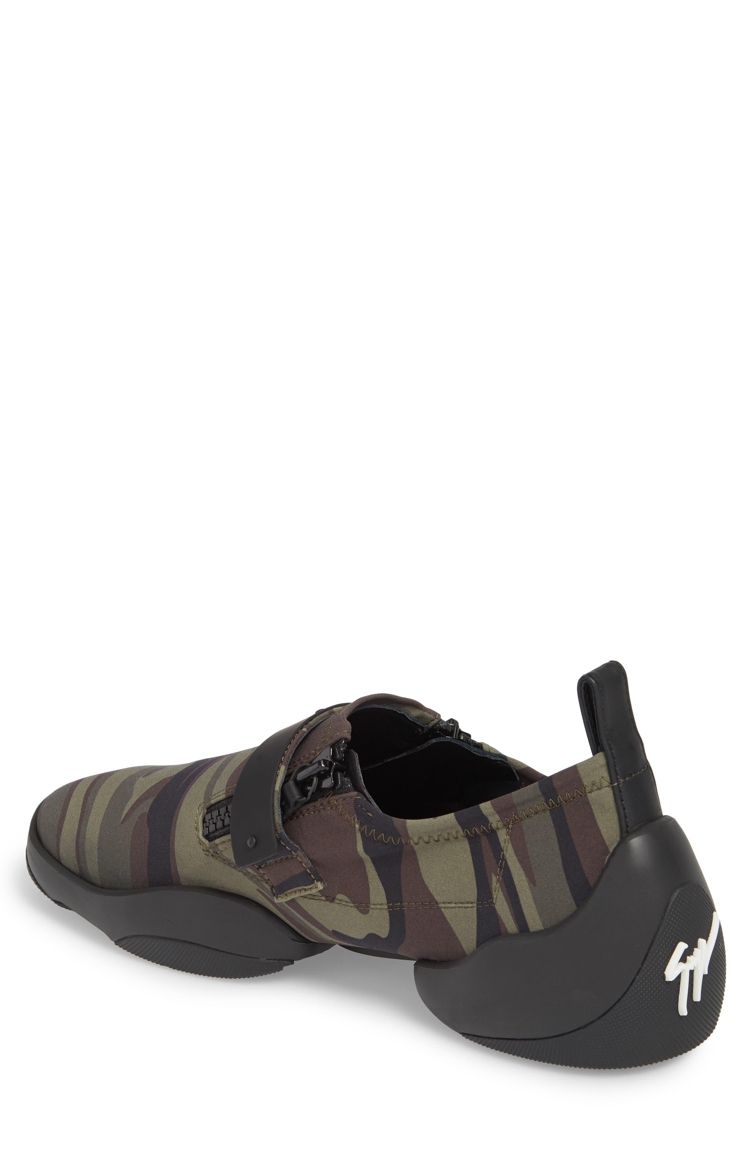 Scuba Strap Sneaker,                             Alternate thumbnail 2, color,                             Military Neoprene