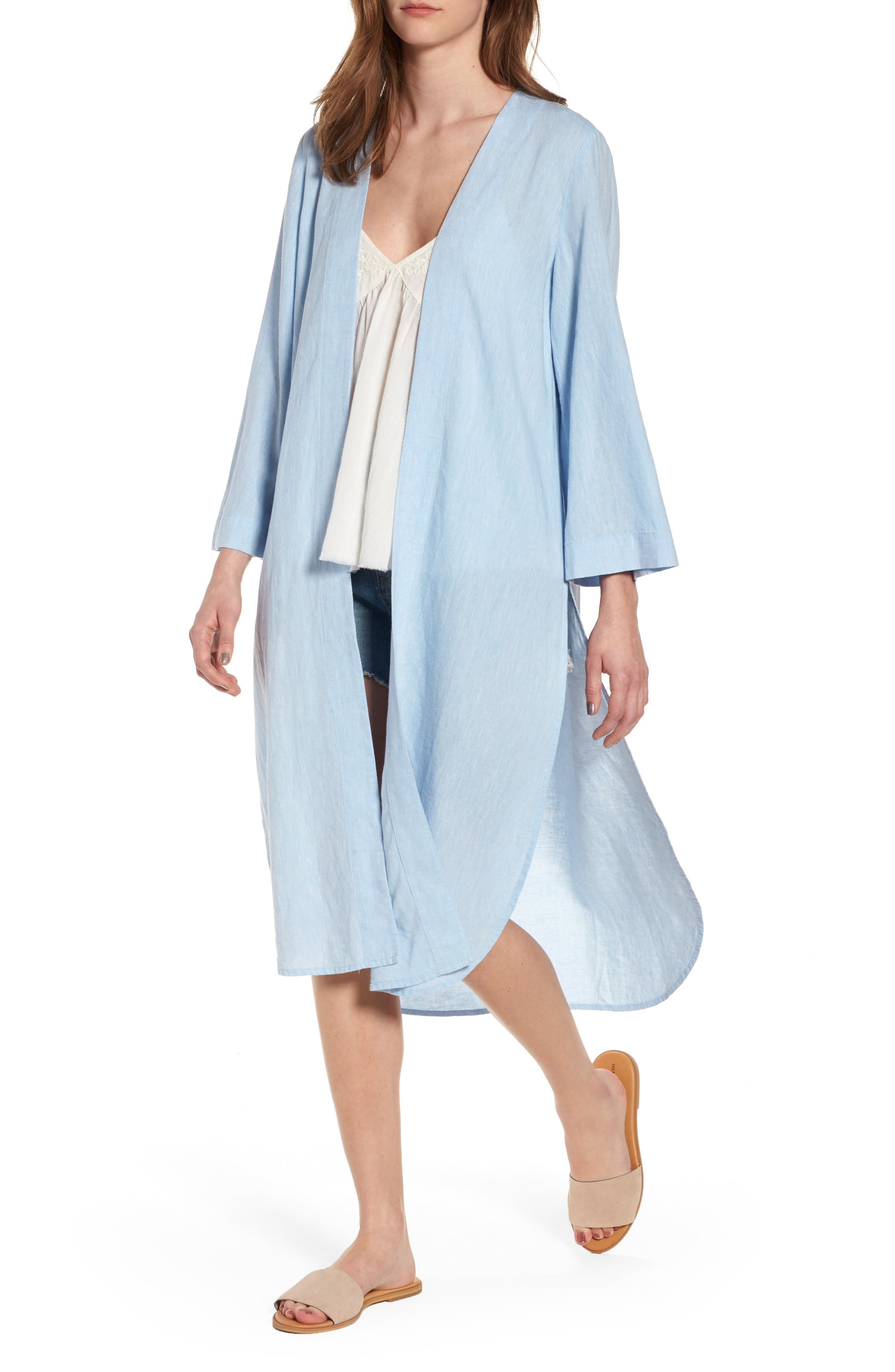 BP. Linen Blend Kimono