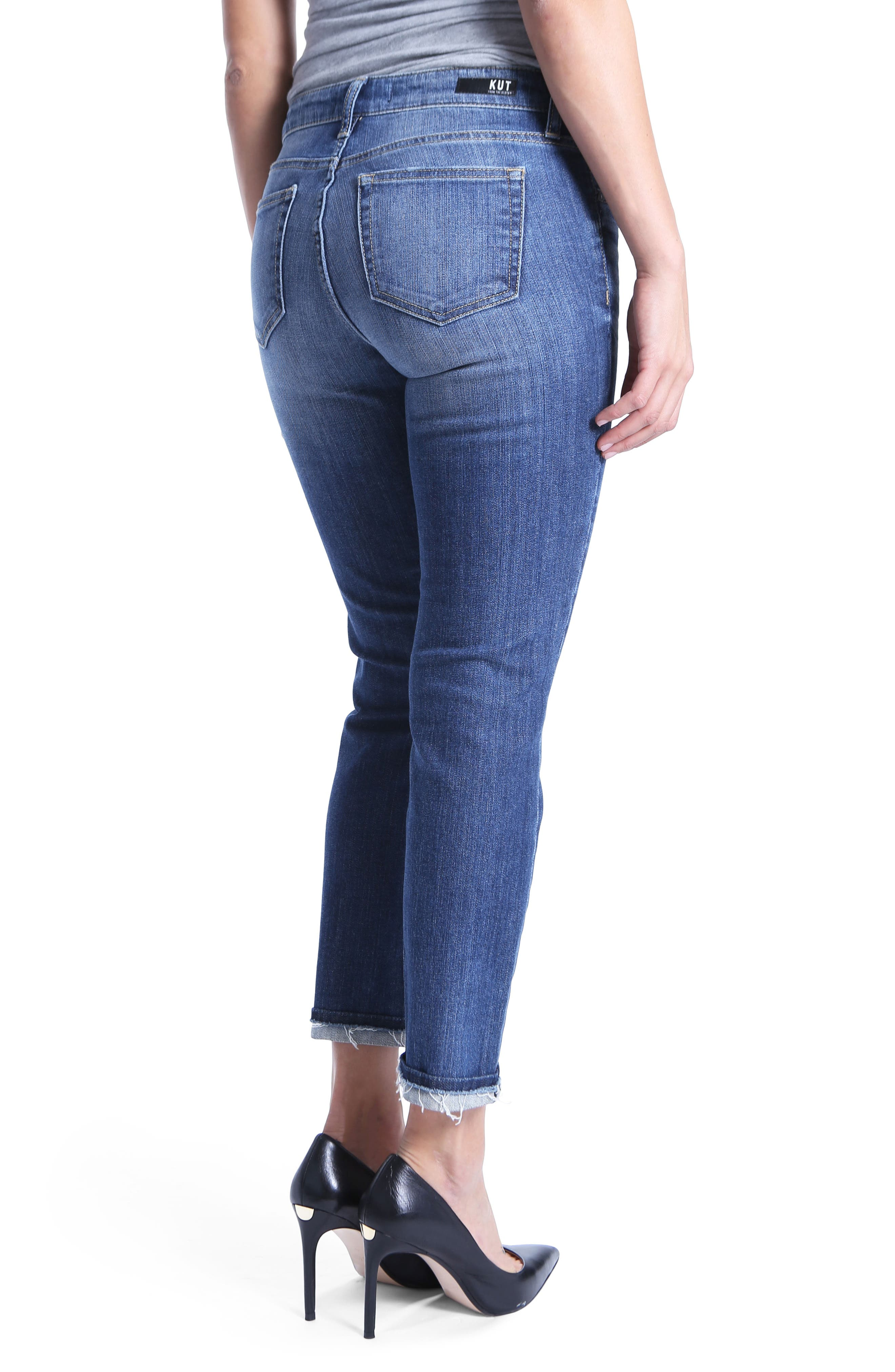 Uma Boyfriend Jeans,                             Alternate thumbnail 2, color,                             Improvise