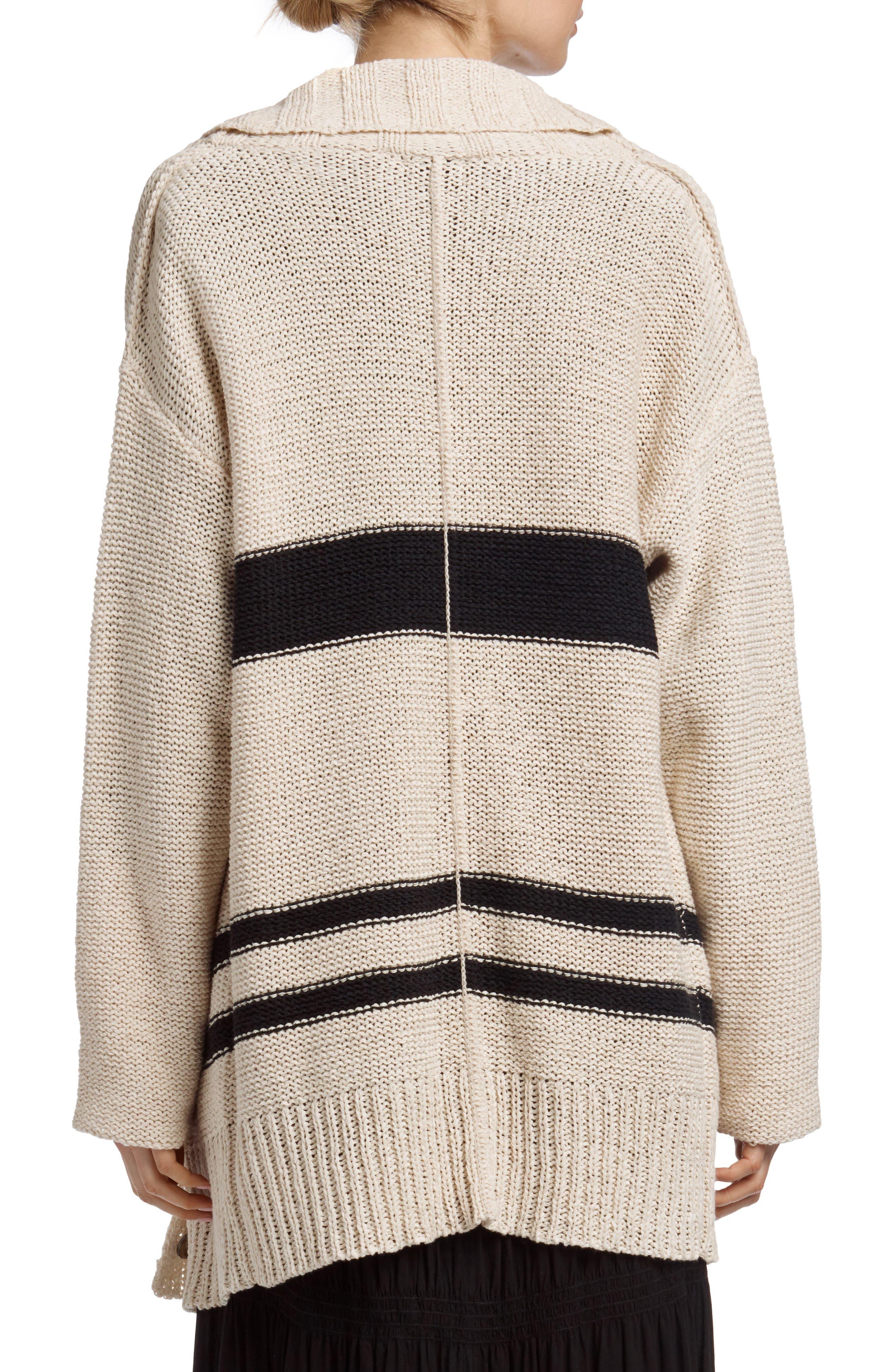 Alternate Image 2  - James Perse Cotton & Linen Blend Beach Sweater