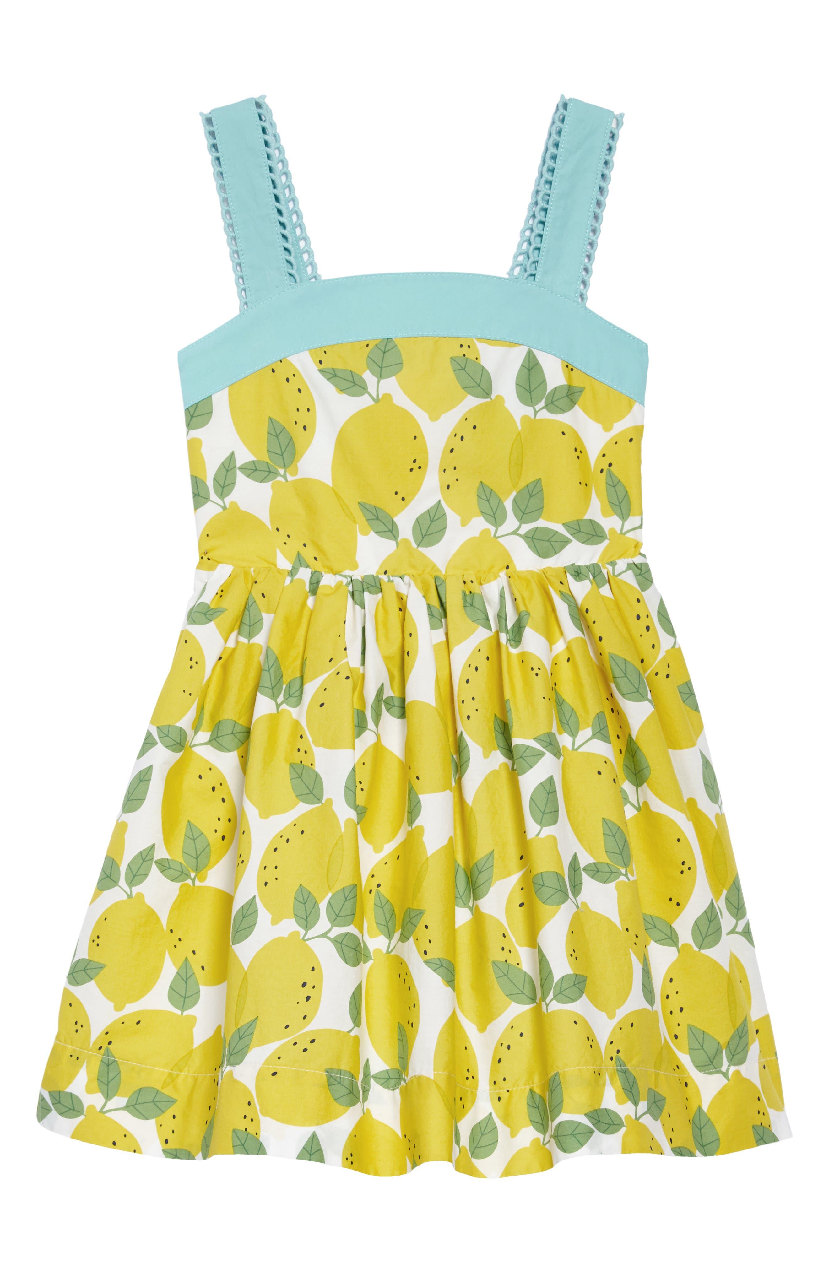 Alternate Image 1 Selected - Mini Boden Fifties Summer Dress (Toddler Girls, Little Girls & Big Girls)