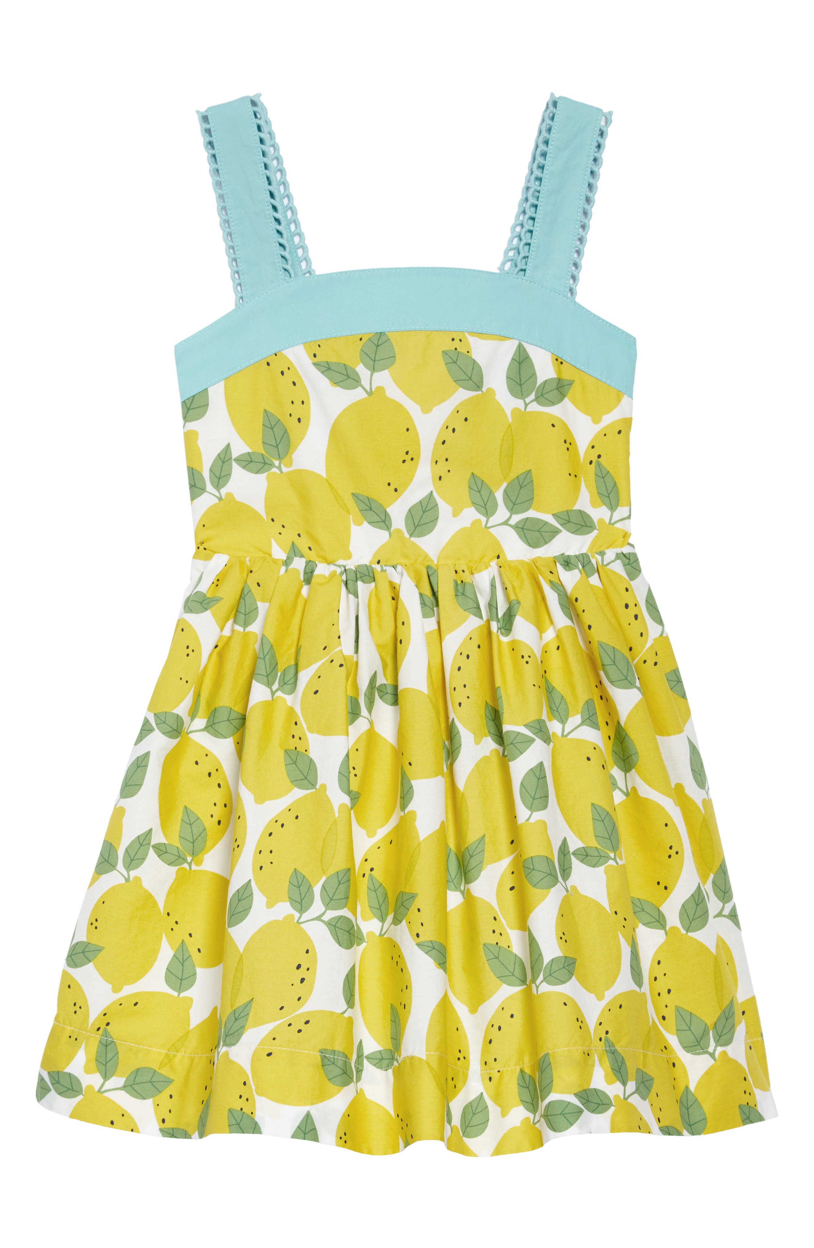 Main Image - Mini Boden Fifties Summer Dress (Toddler Girls, Little Girls & Big Girls)