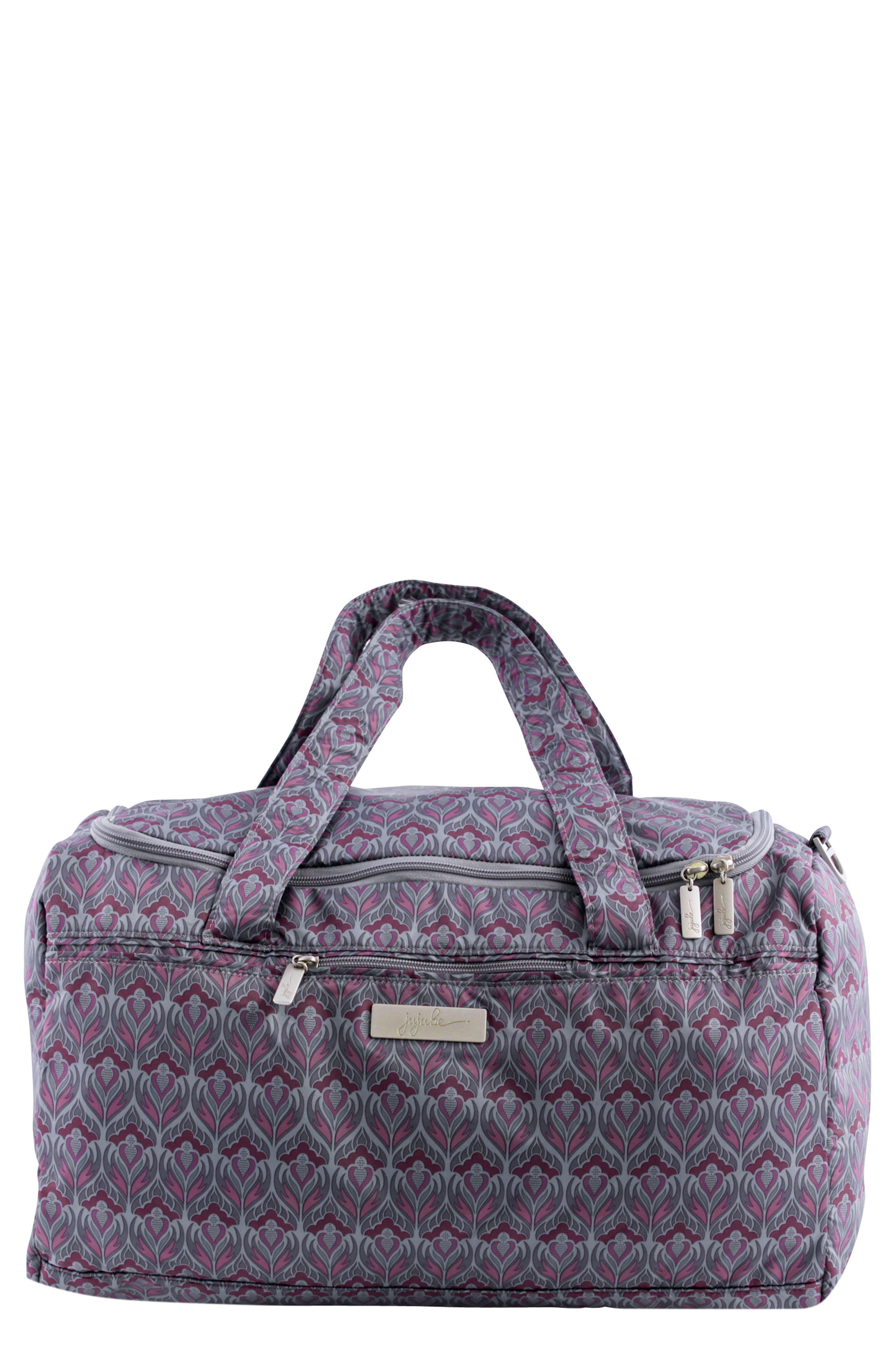 'Starlet' Travel Diaper Bag,                             Main thumbnail 1, color,                             Amethyst Ice