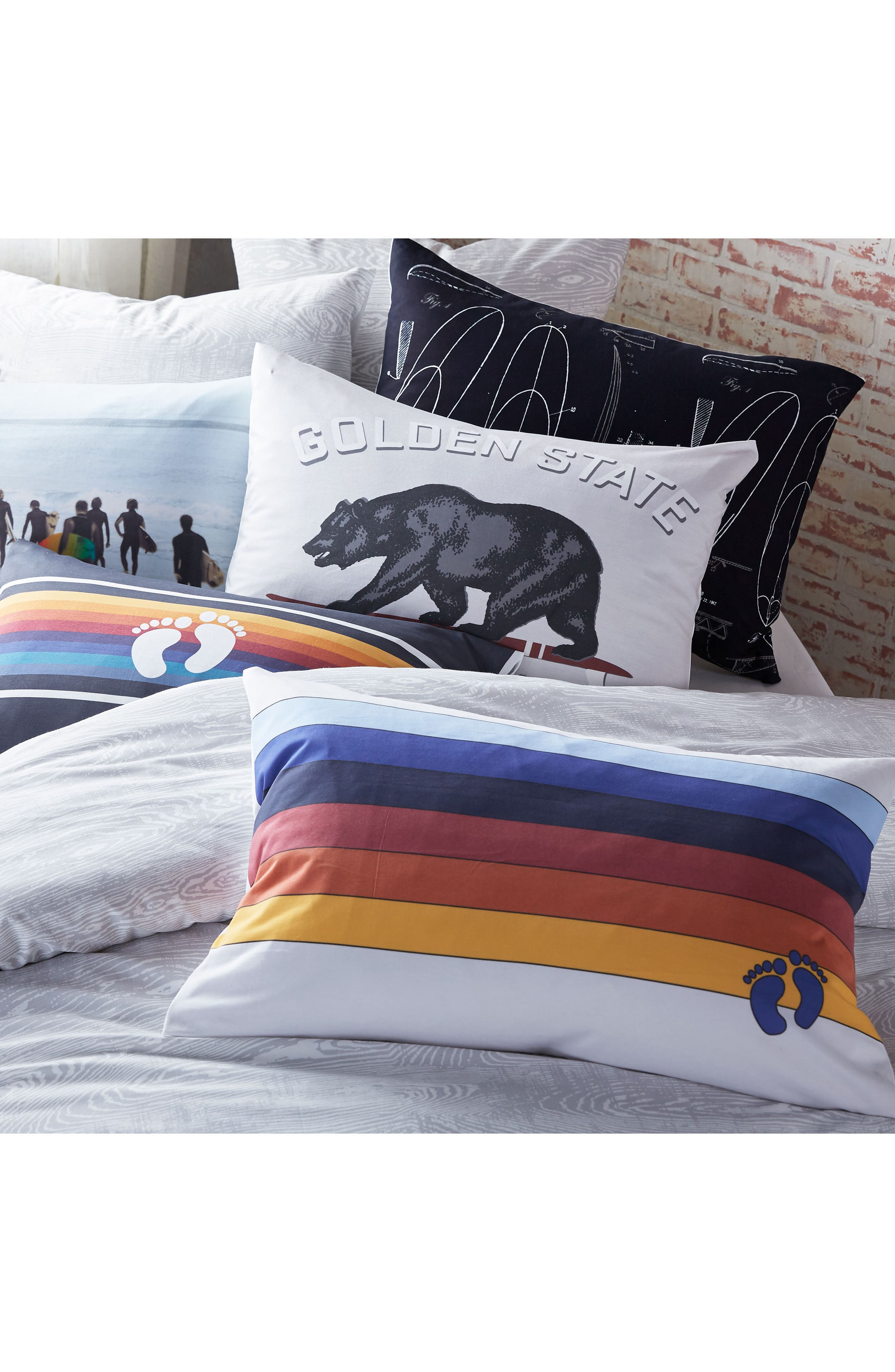 Alternate Image 4  - Hang Ten Surfers Pillowcase