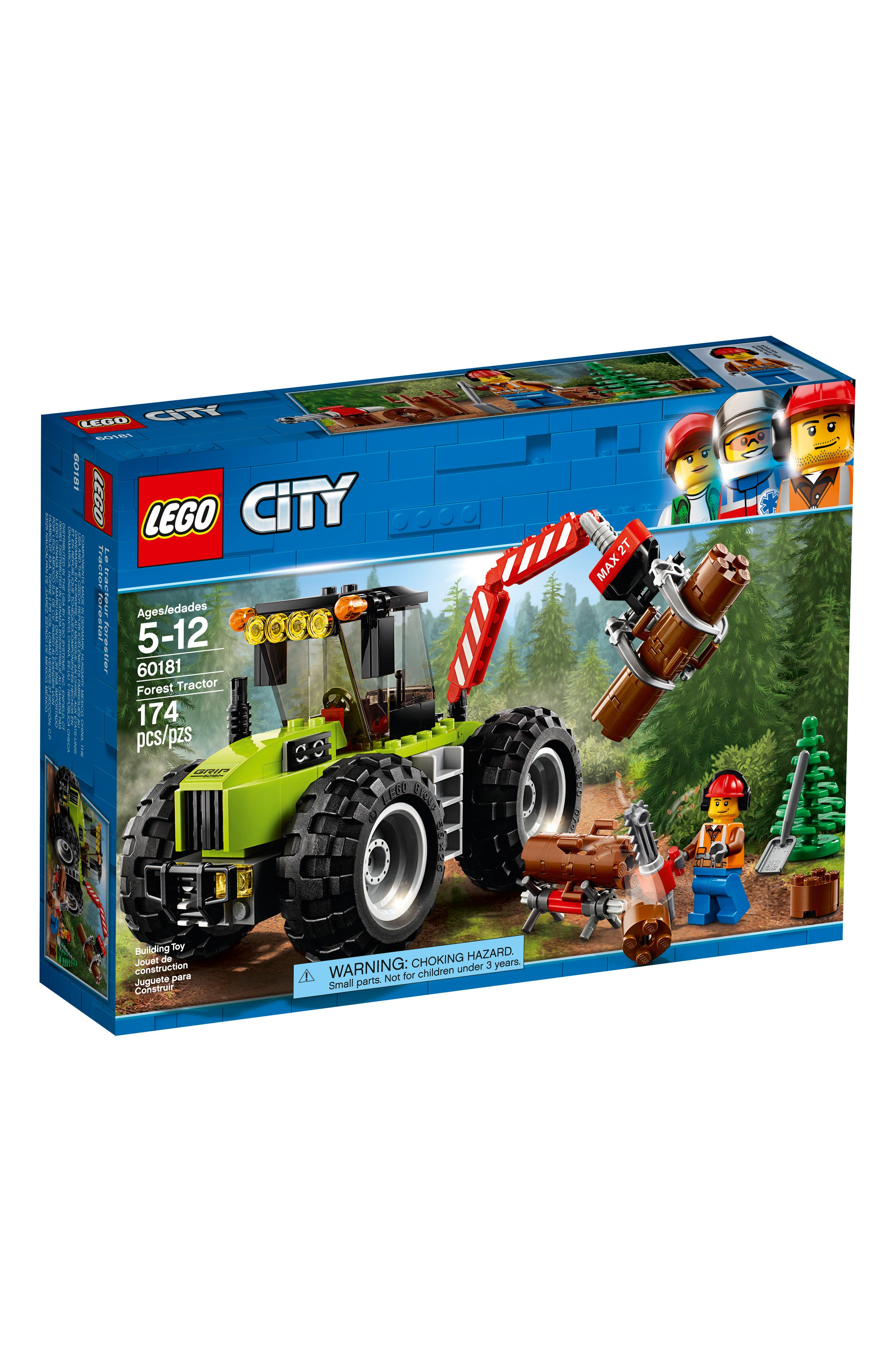 City Forest Tractor - 60181,                         Main,                         color, Multi