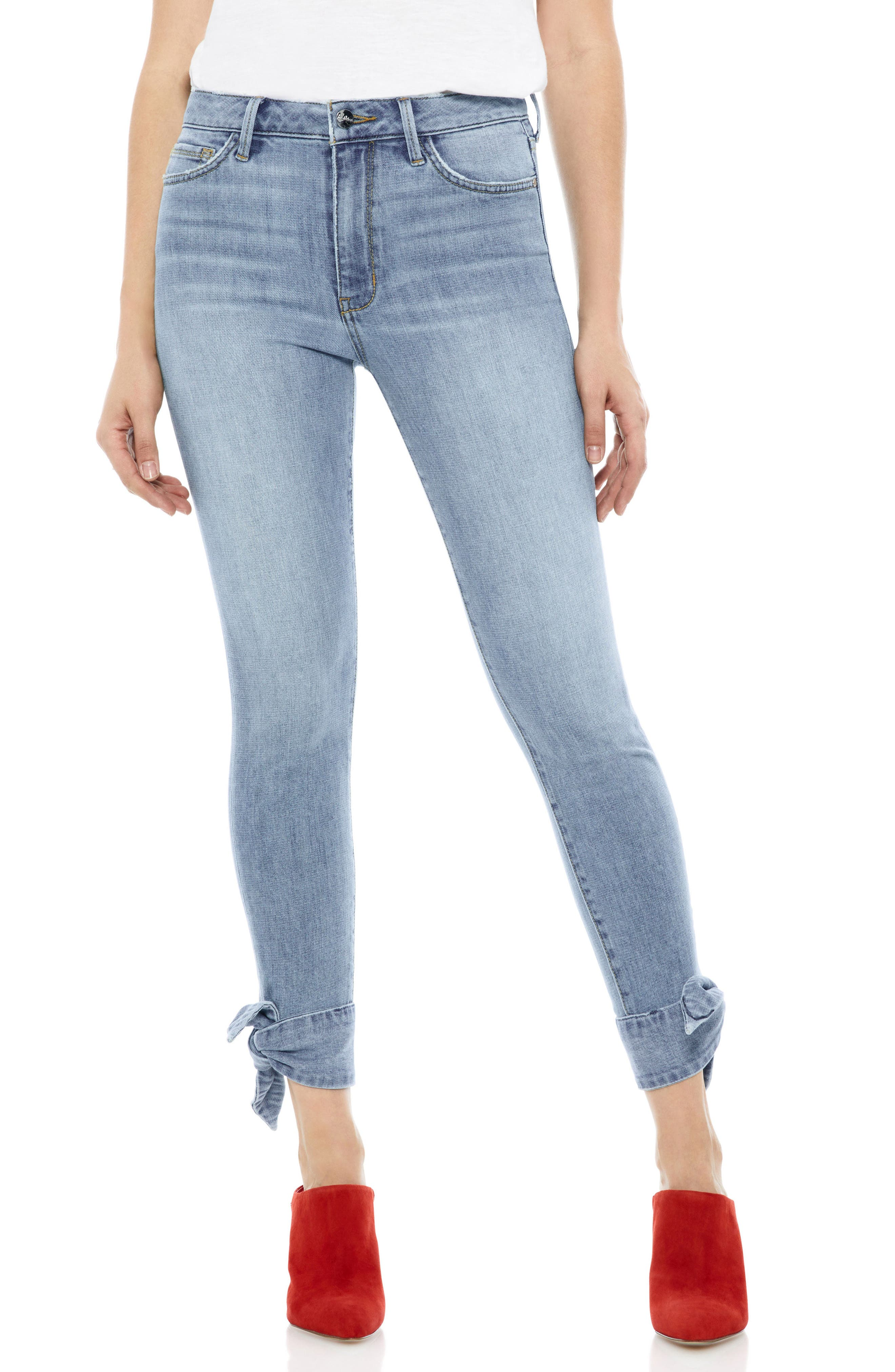 Sam Edelman The Stiletto Ankle Tie Jeans (Fannie)