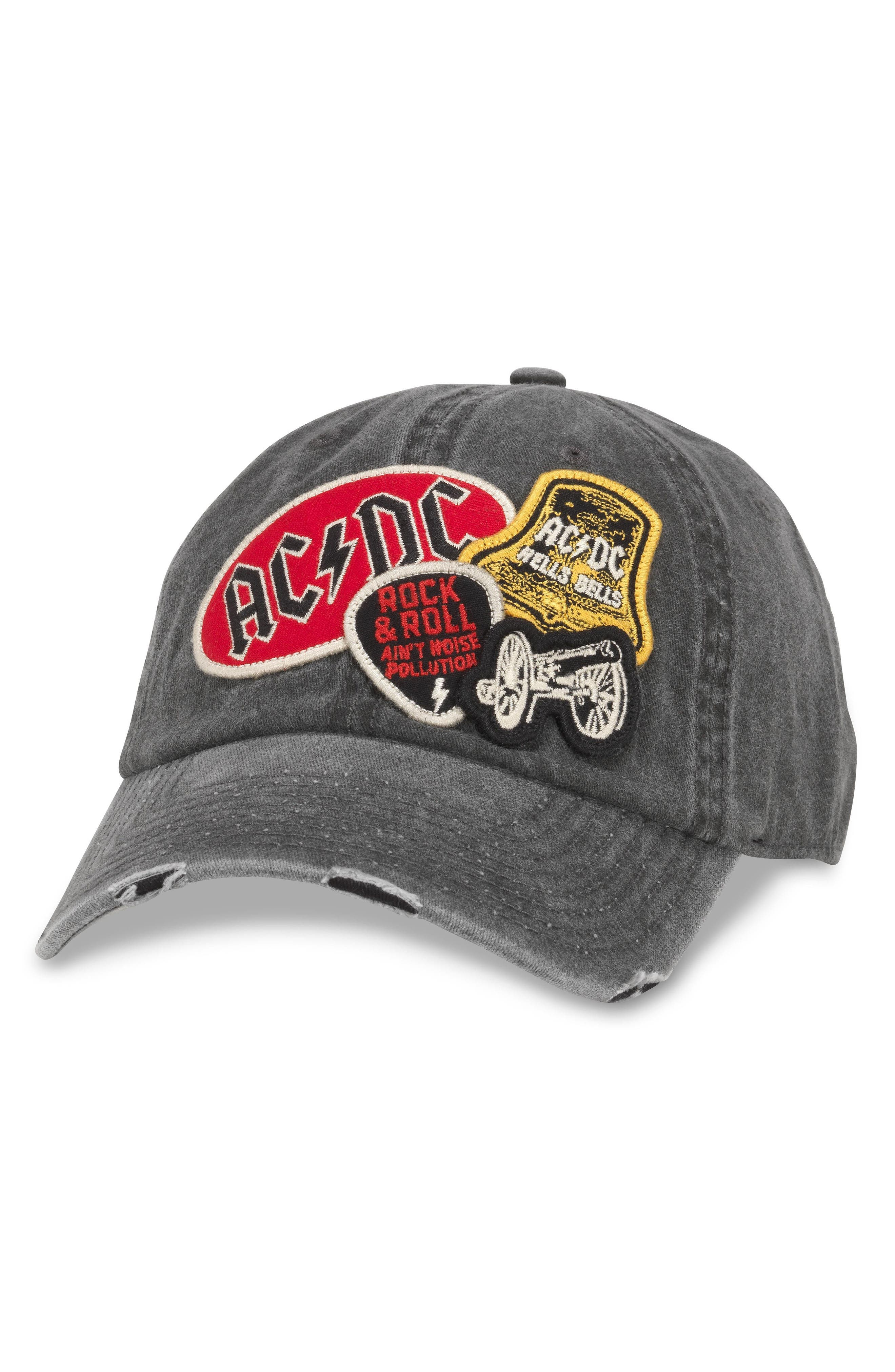 Iconic - Rock 'N' Roll Baseball Cap,                         Main,                         color, Ac/ Dc