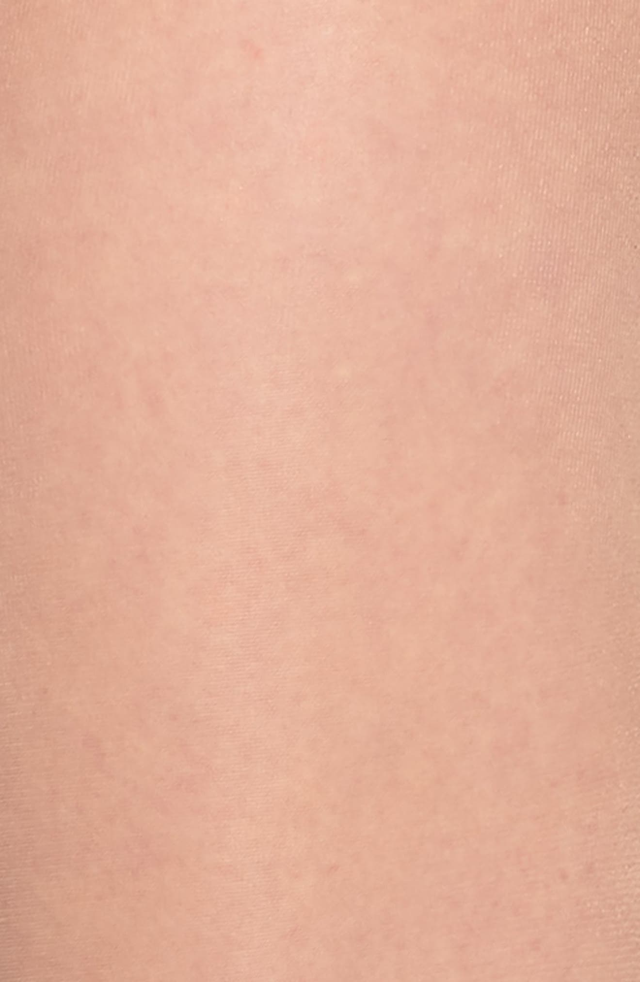 Collant Flower Pantyhose,                             Alternate thumbnail 2, color,                             Nude
