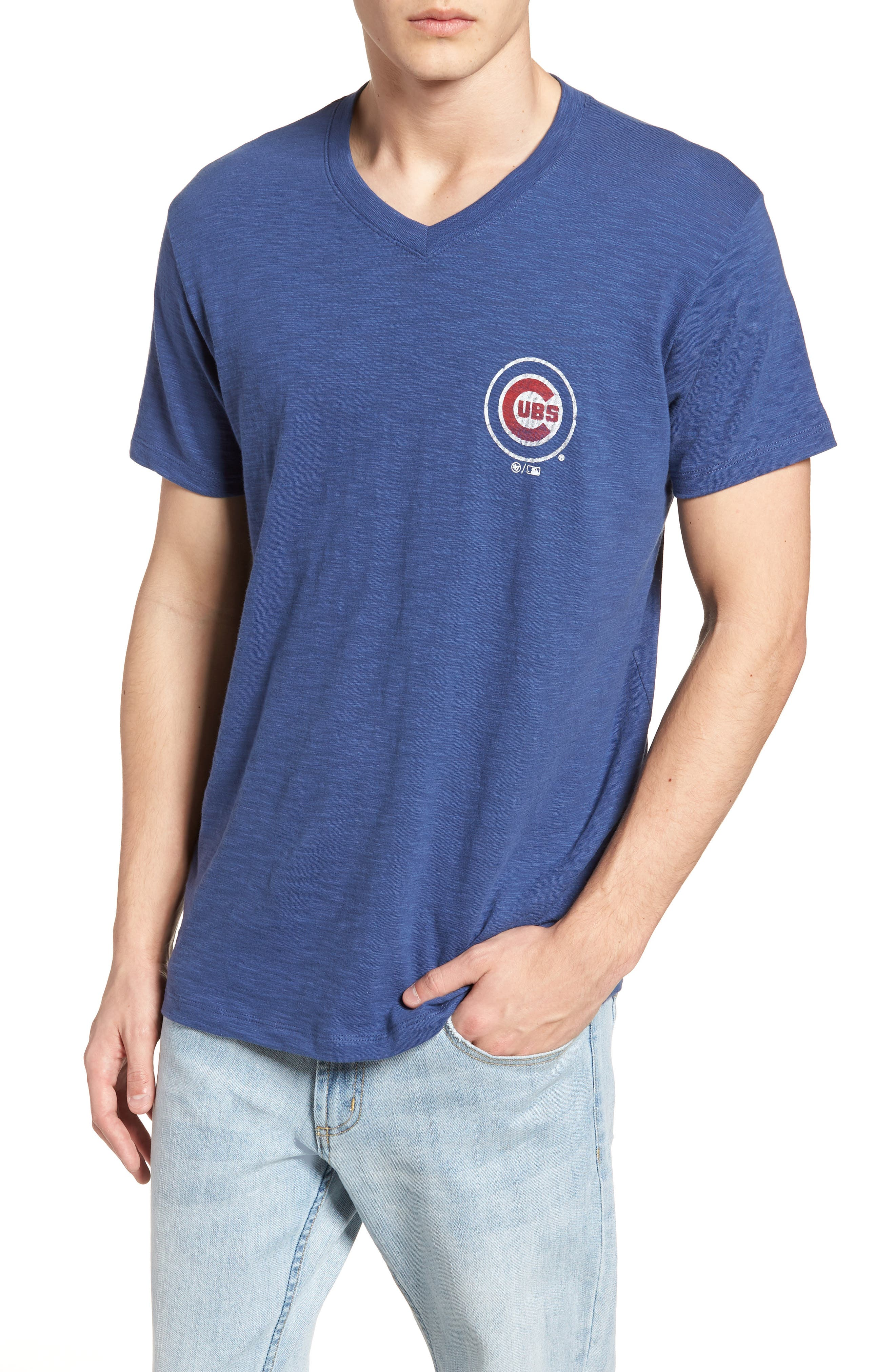 47 Brand MLB Grit Scrum Chicago Cubs T-Shirt