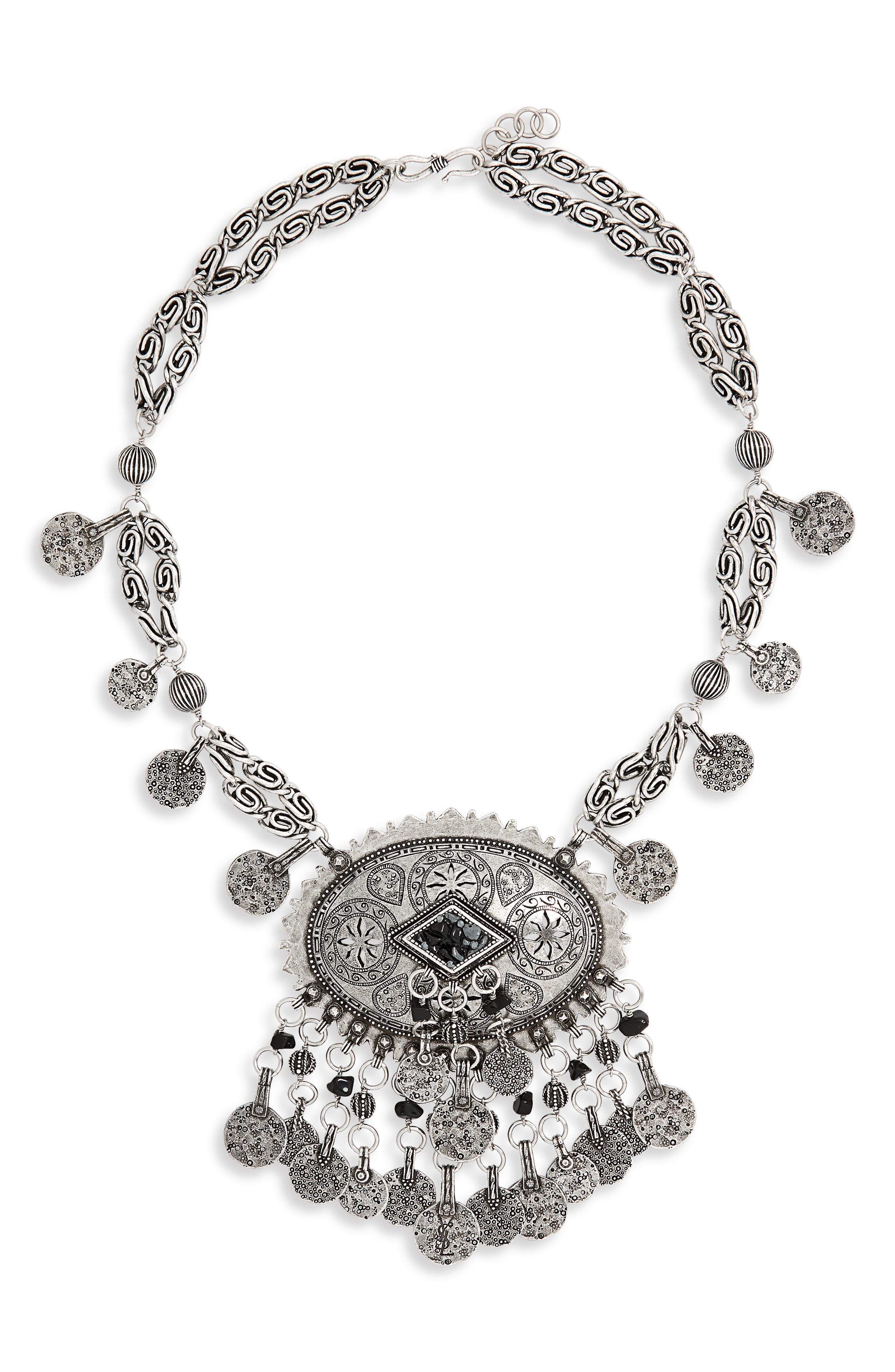 Saint Laurent Marrak Berbere Collar Necklace