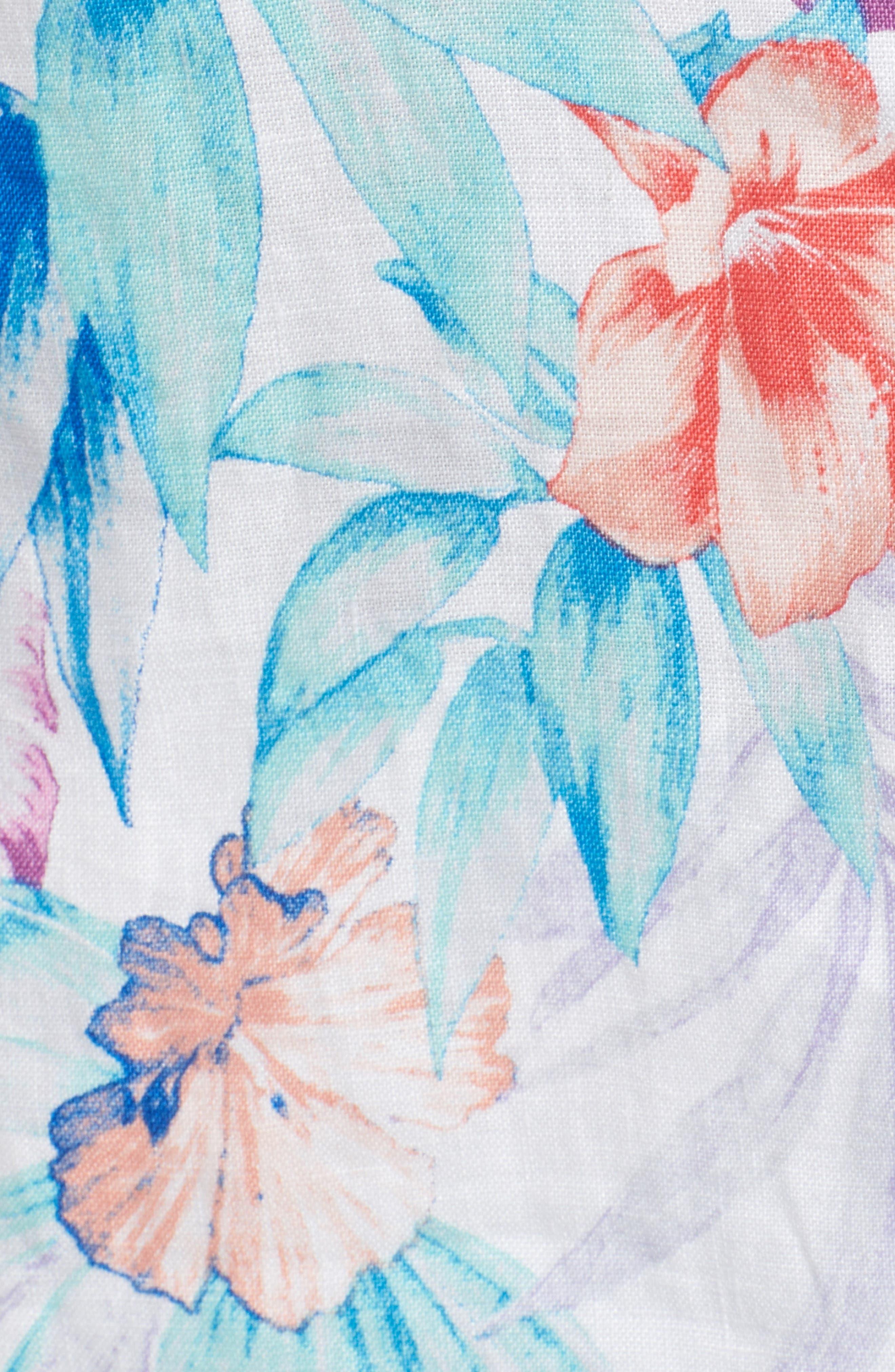 Valentina Villa Shirt,                             Alternate thumbnail 6, color,                             White