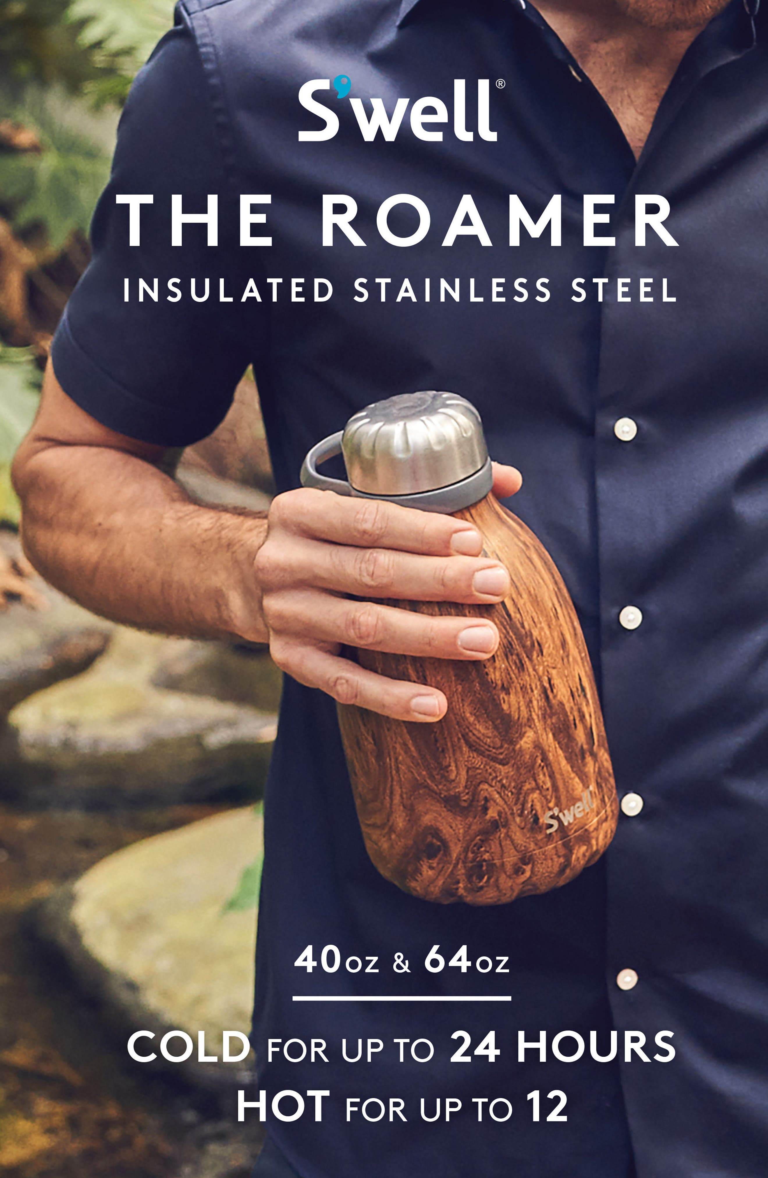 The Roamer 40-Ounce Travel Pitcher,                             Alternate thumbnail 5, color,                             Moonstone