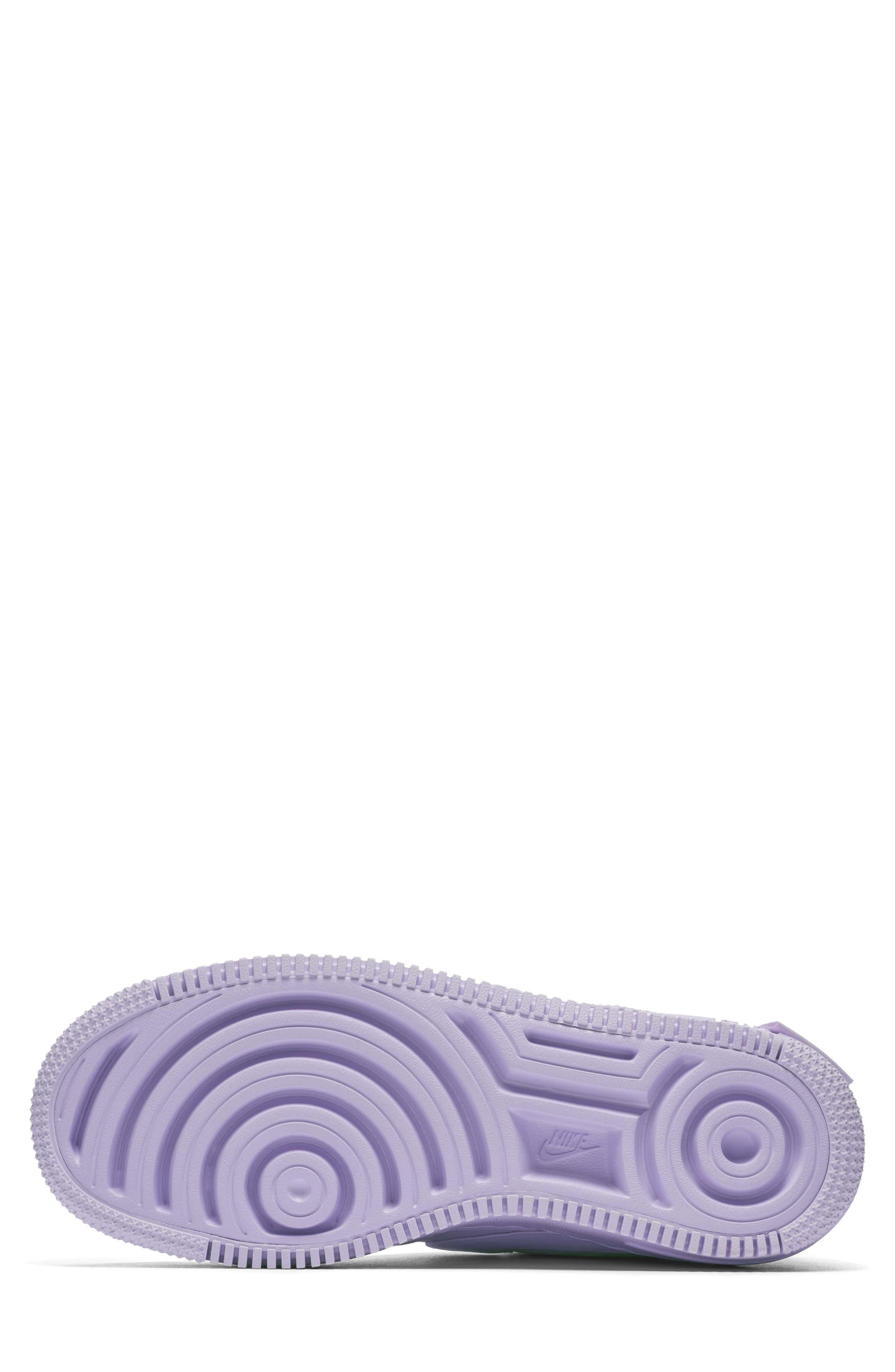 Air Force 1 Jester XX Sneaker,                             Alternate thumbnail 6, color,                             Violet Mist