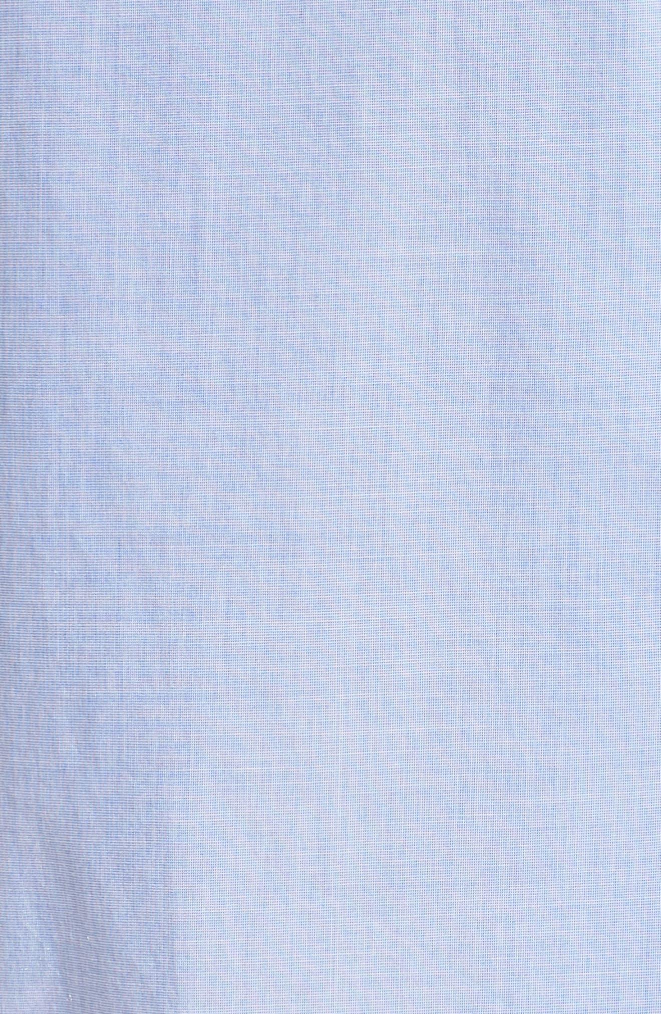 Tipped Pajama Set,                             Alternate thumbnail 7, color,                             Hydrangea