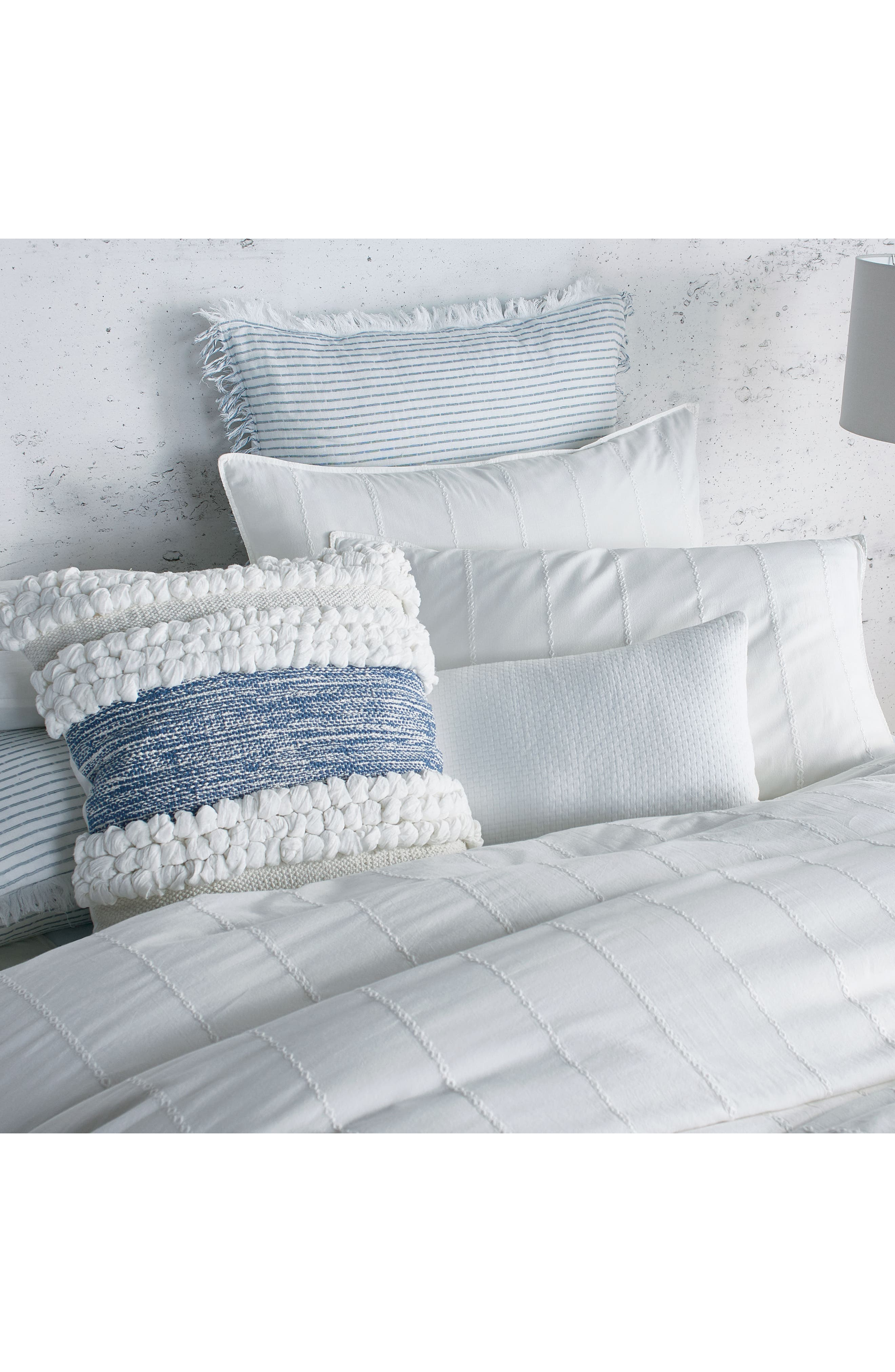 Alternate Image 3  - DKNY Pure Eyelet Voile Duvet Cover