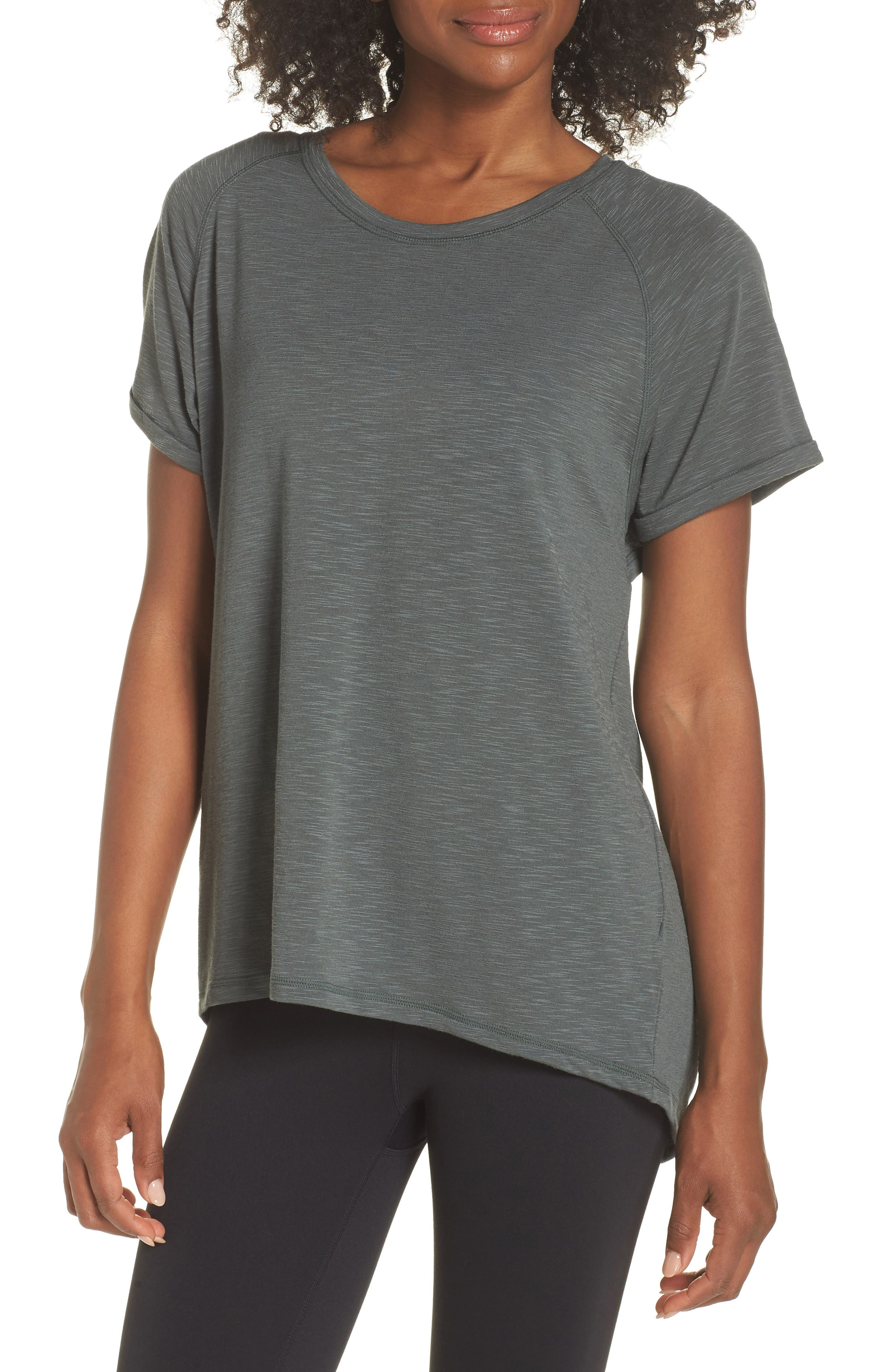 Back It Up Slub Tee,                         Main,                         color, Grey Urban