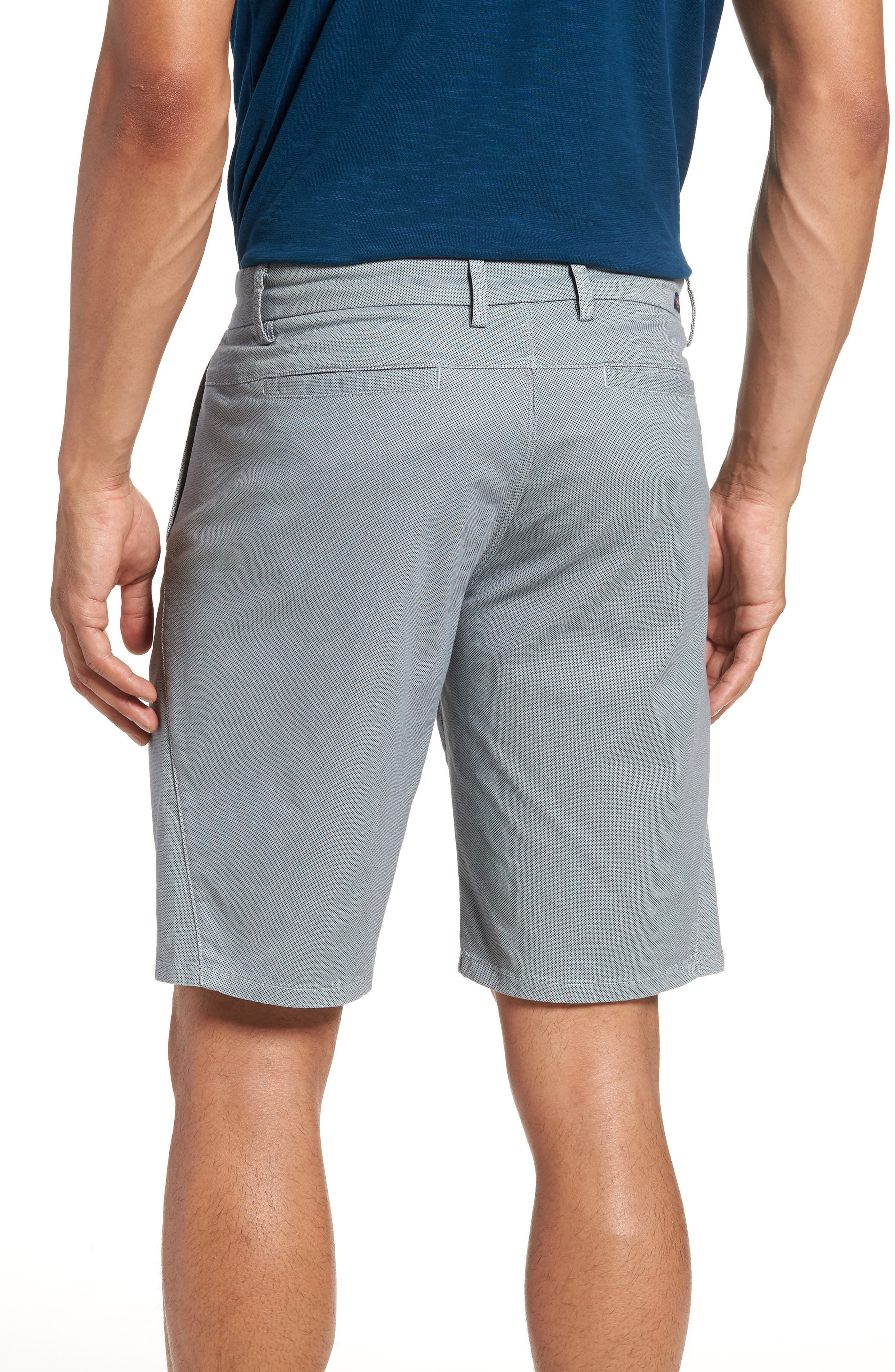 Wrap Microdot Stretch Chino Shorts,                             Alternate thumbnail 2, color,                             Alloy