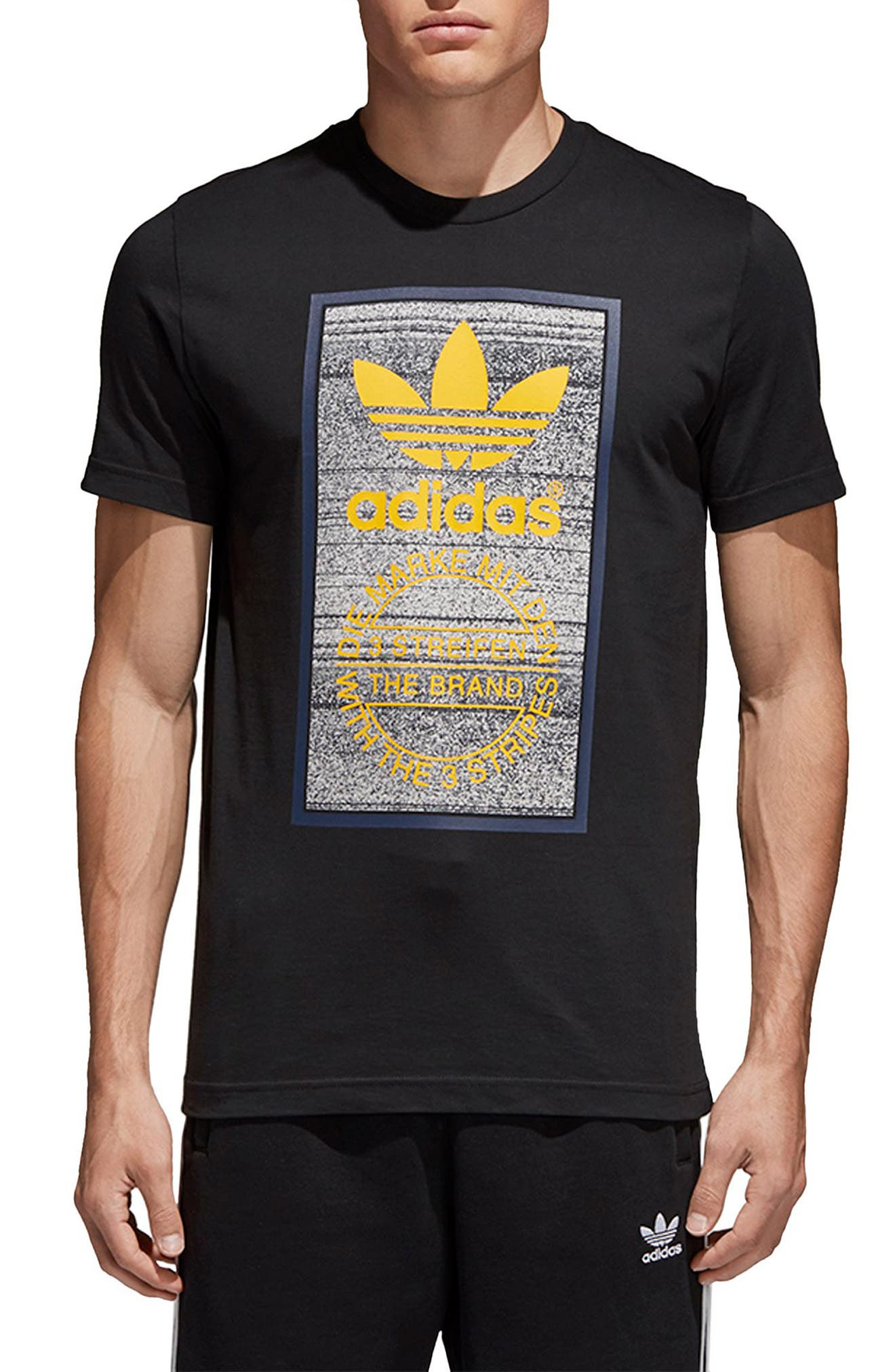Alternate Image 1 Selected - adidas Originals Traction in Action T-Shirt