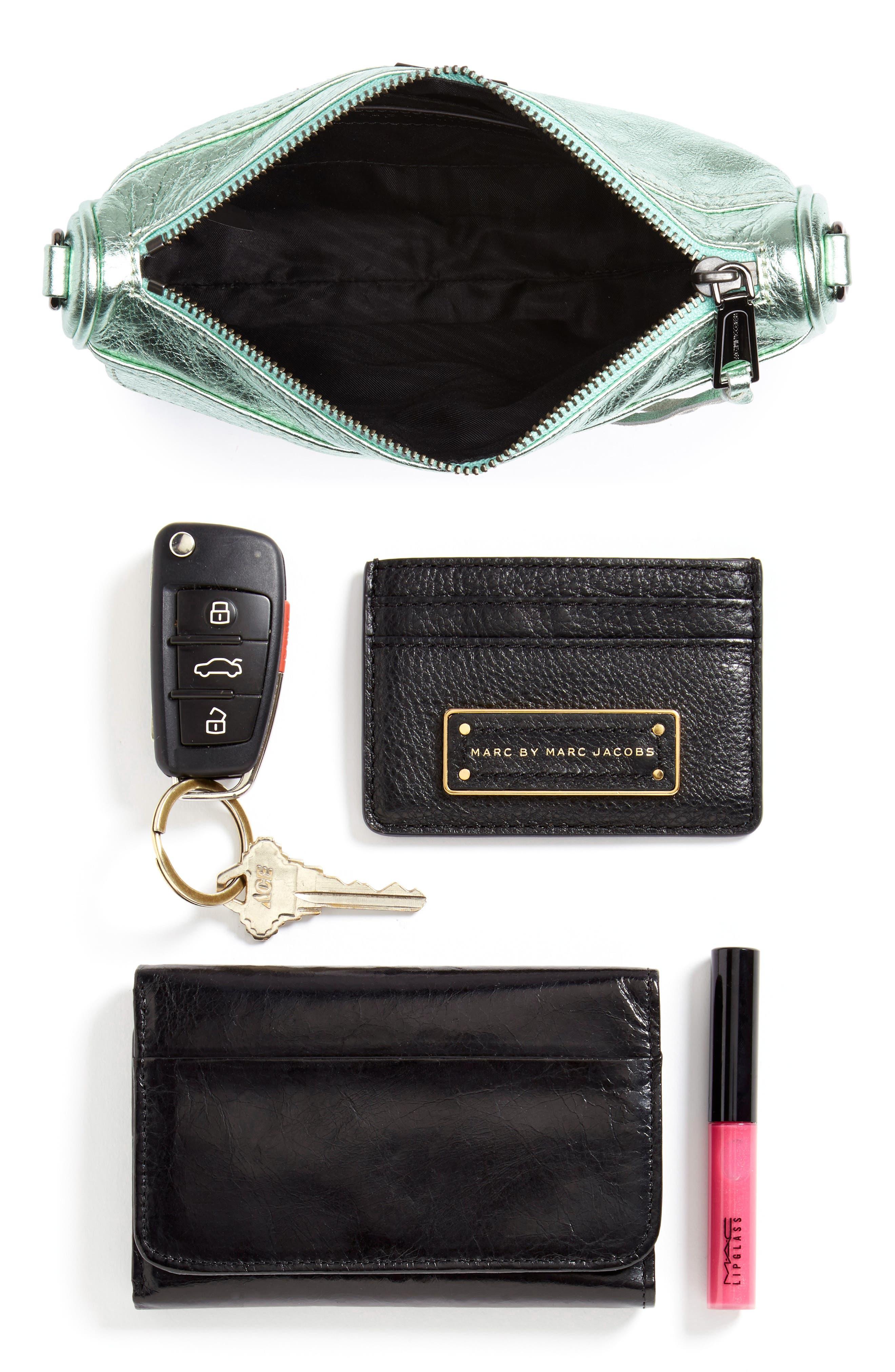 Mini MAC Metallic Leather Convertible Crossbody Bag,                             Alternate thumbnail 7, color,