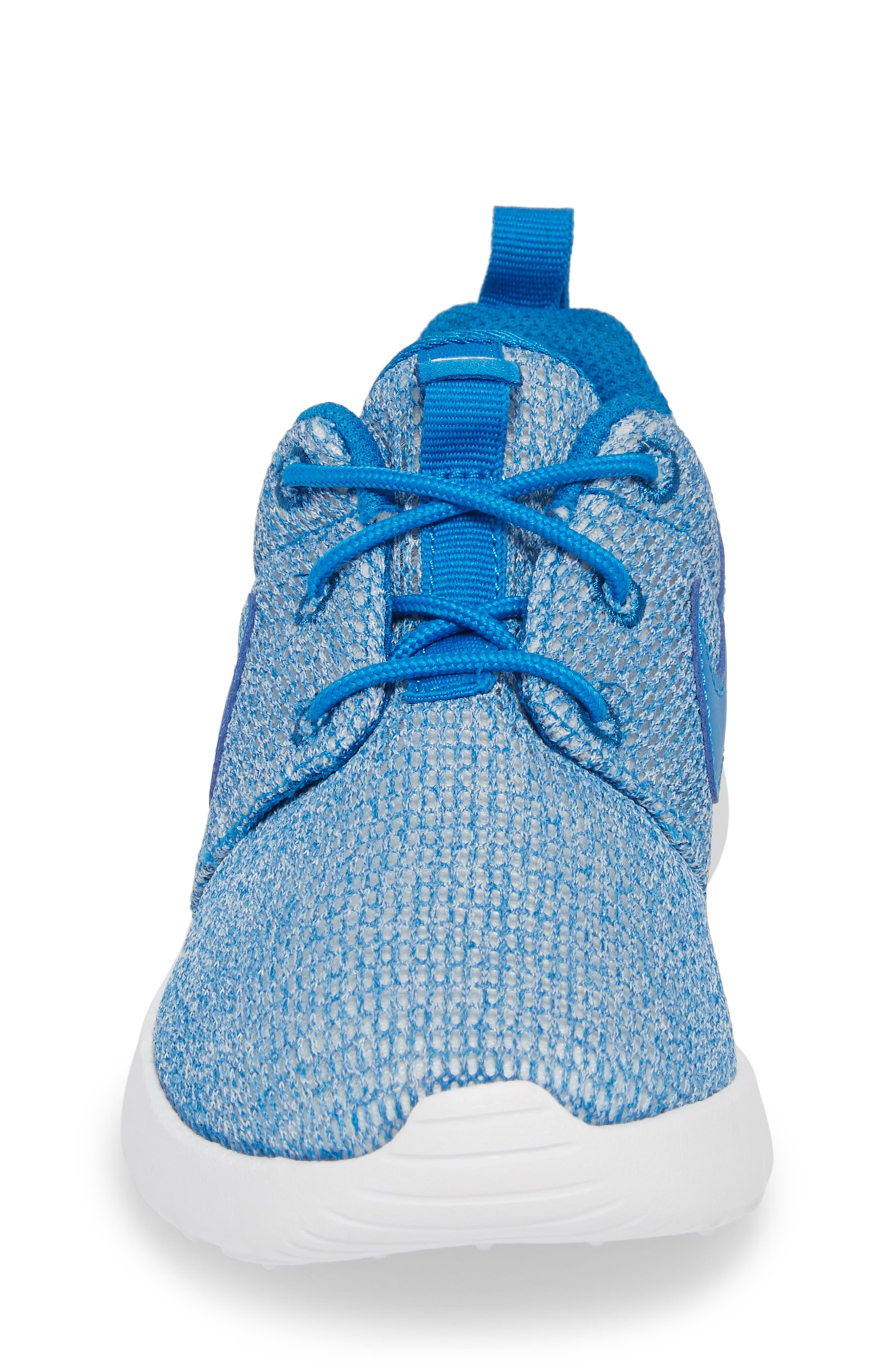 Alternate Image 4  - Nike 'Roshe Run' Sneaker (Little Kid & Big Kid)