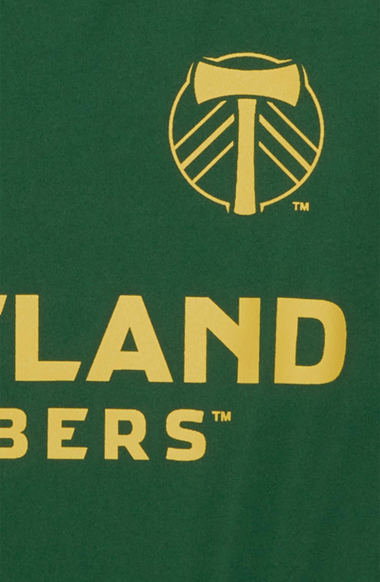MLS Portland Timbers Primary Logo Graphic T-Shirt,                             Alternate thumbnail 2, color,                             Ponderosa