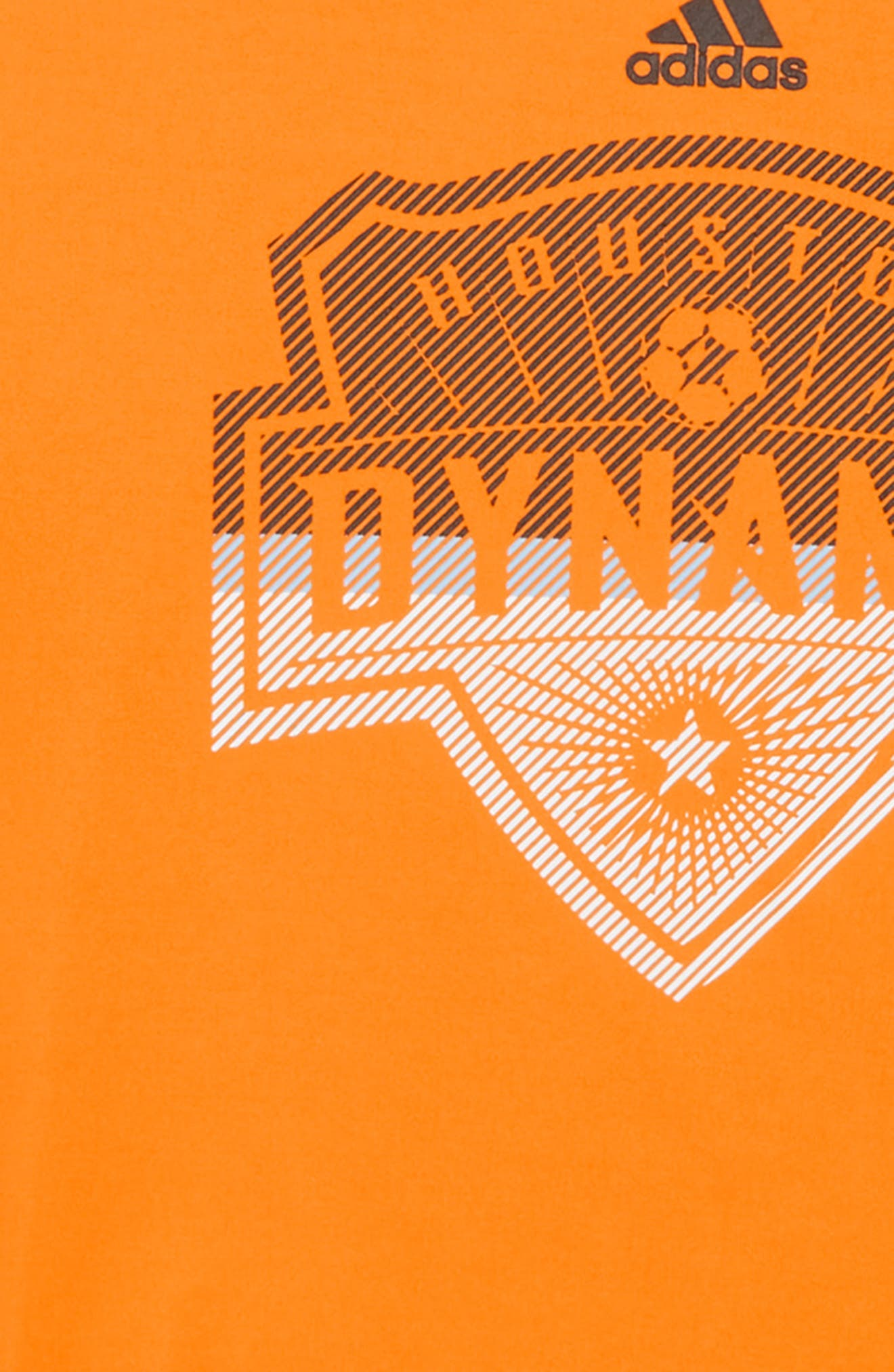 Alternate Image 2  - adidas MLS Houston Dynamo Climalite® T-Shirt (Big Boys)