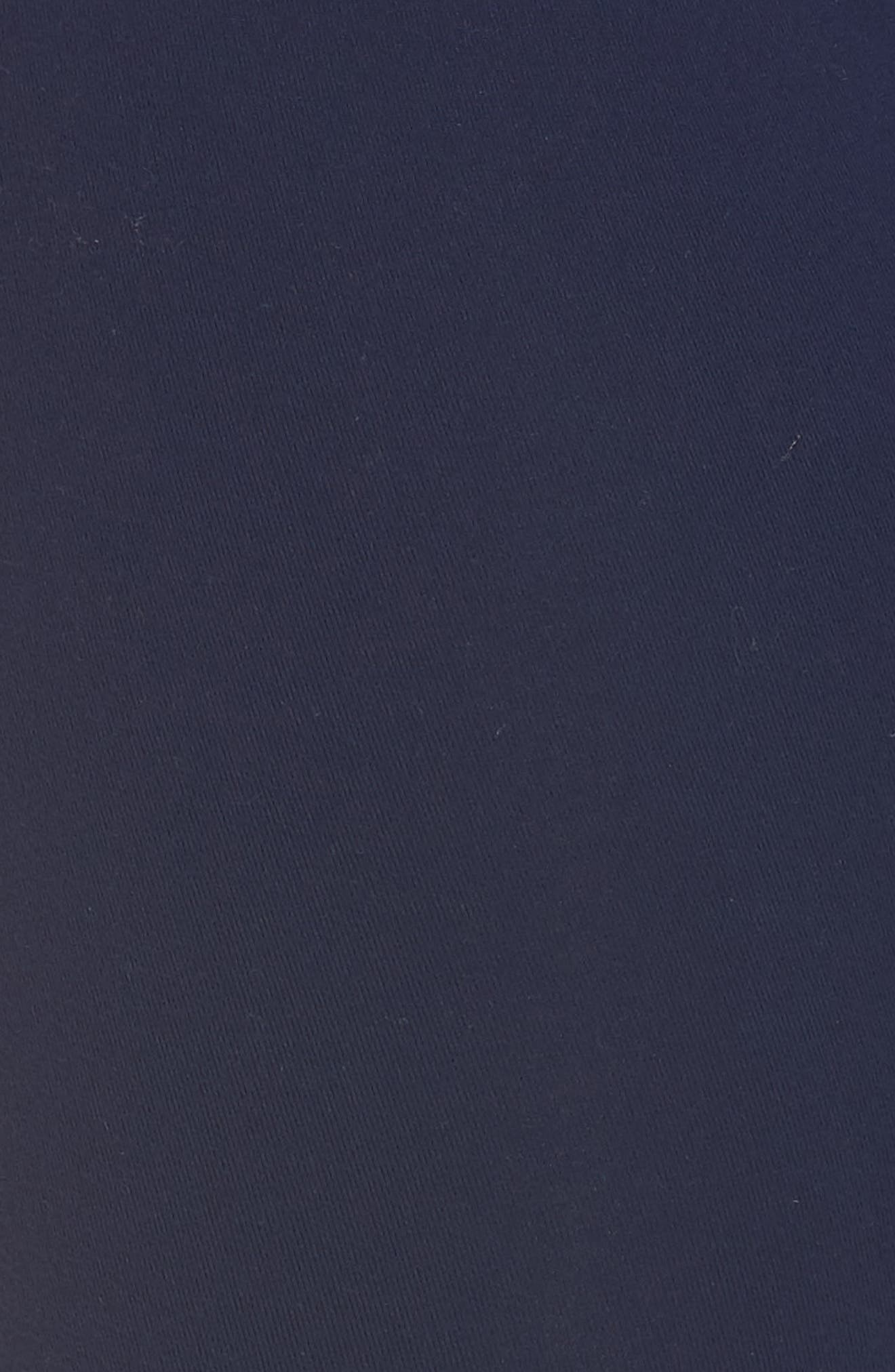 High Waist Capri Leggings,                             Alternate thumbnail 5, color,                             Nightfall