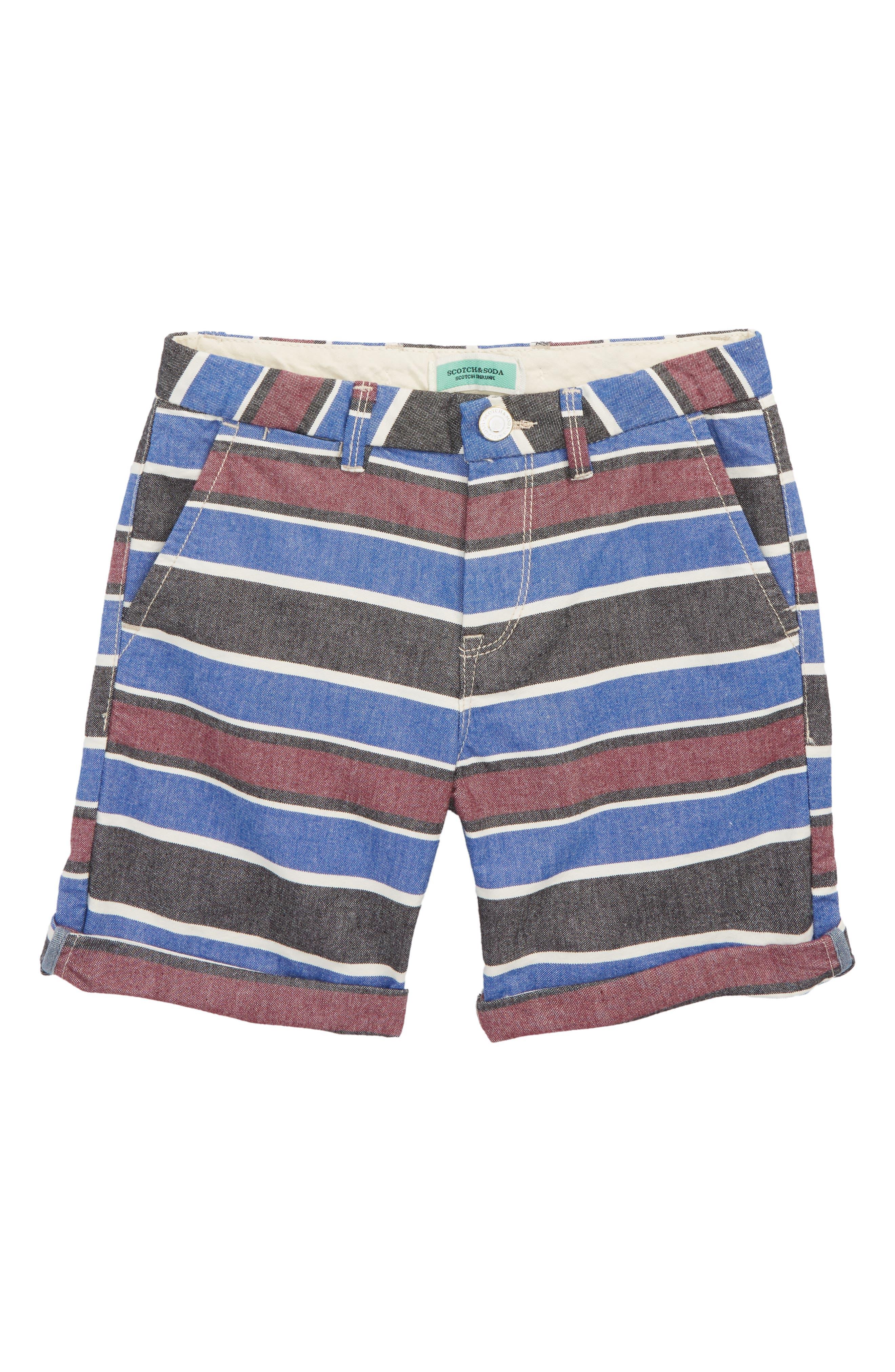 Stripe Chino Shorts,                             Main thumbnail 1, color,                             Combo Stripes