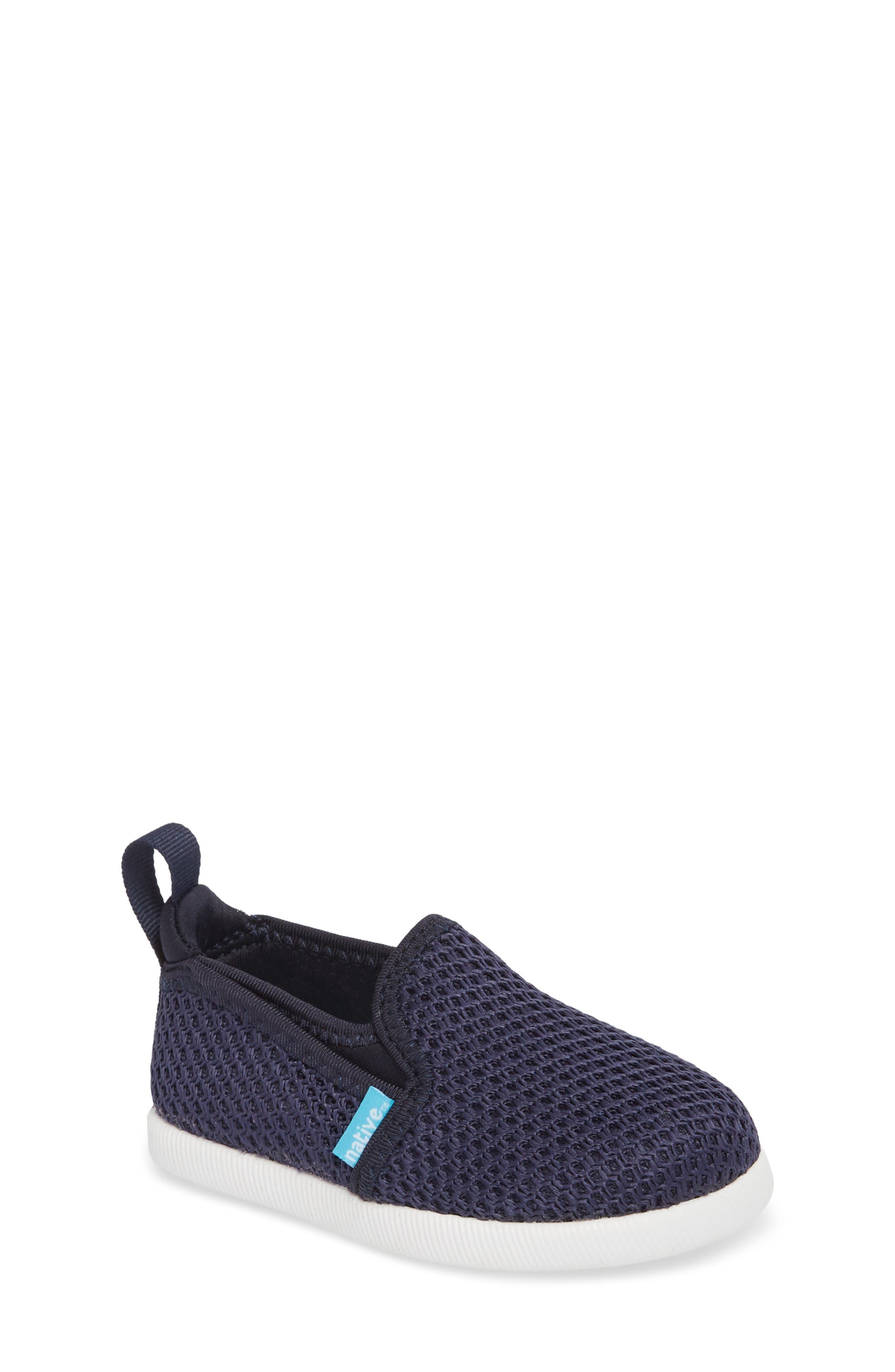 Cruz Woven Slip-On,                         Main,                         color, Regatta Blue/ Shell White