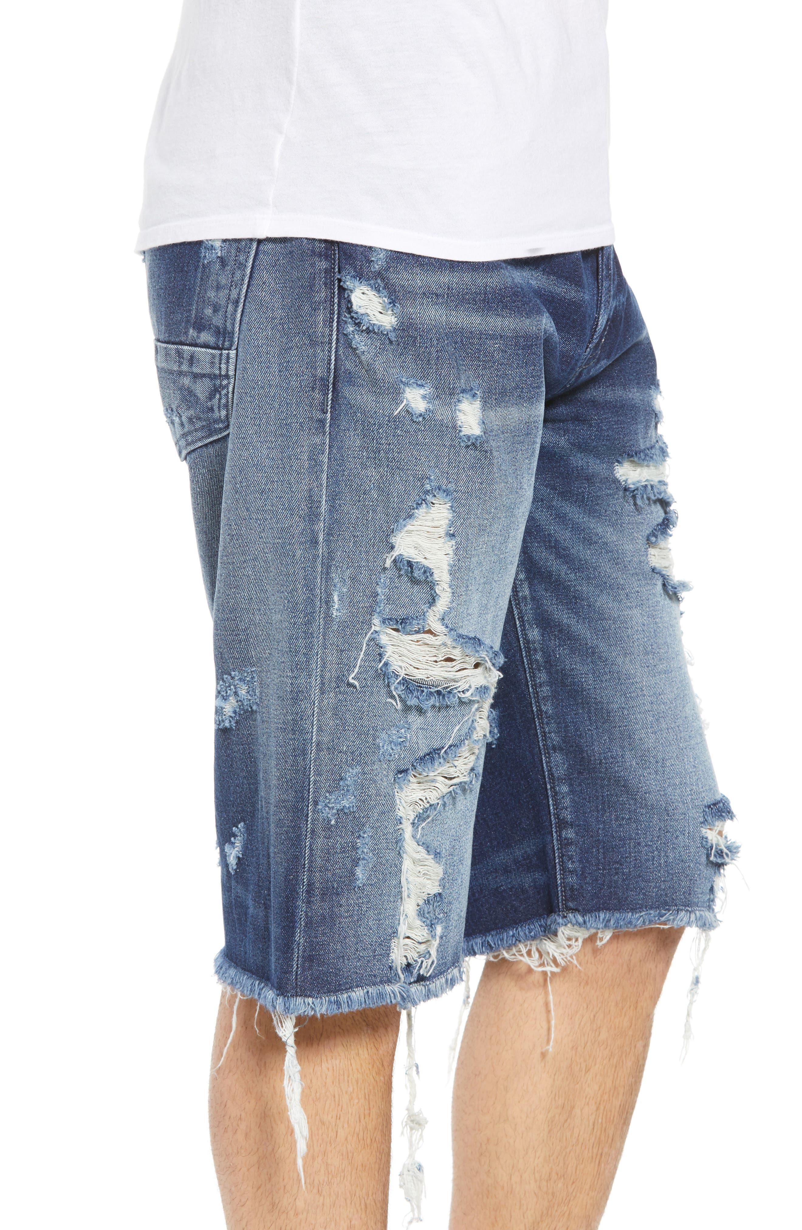 Challenger Regular Fit Shorts,                             Alternate thumbnail 3, color,                             Nimble