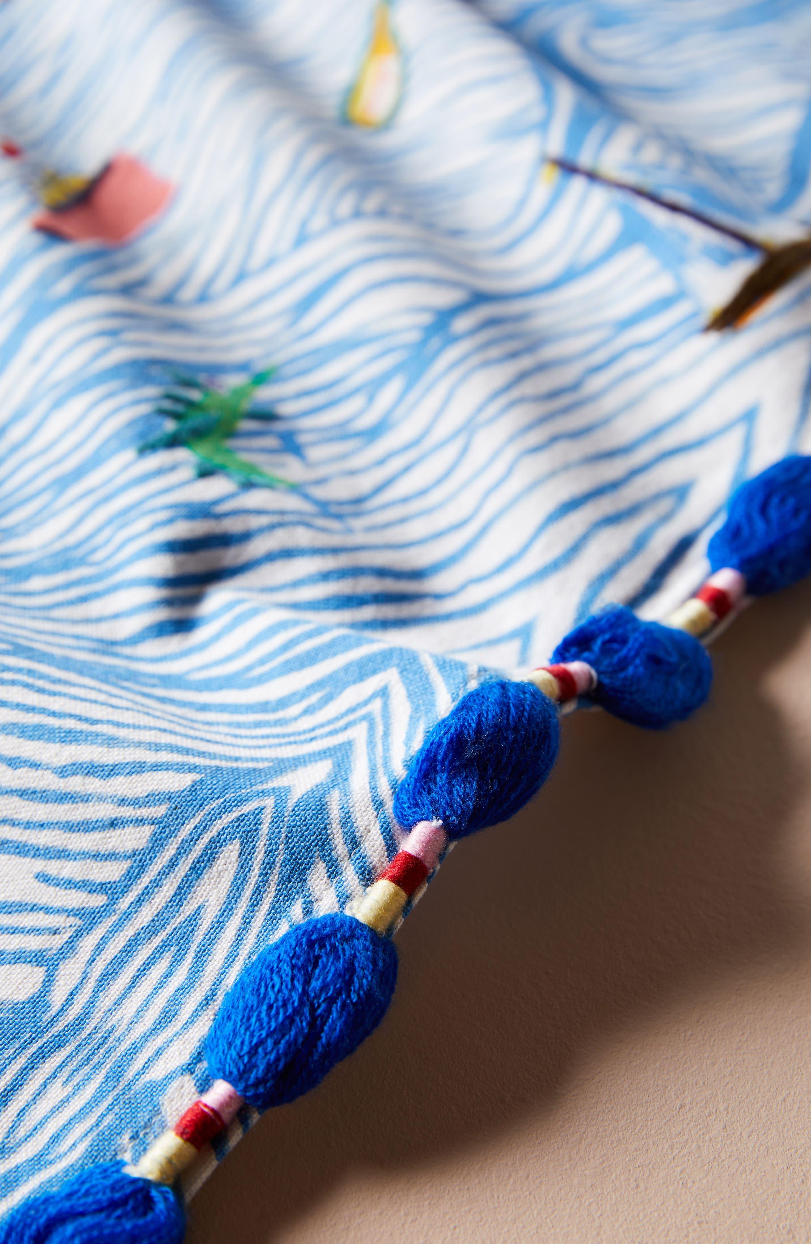 Sal Del Mar Dishtowel,                             Alternate thumbnail 2, color,                             Blue Combo