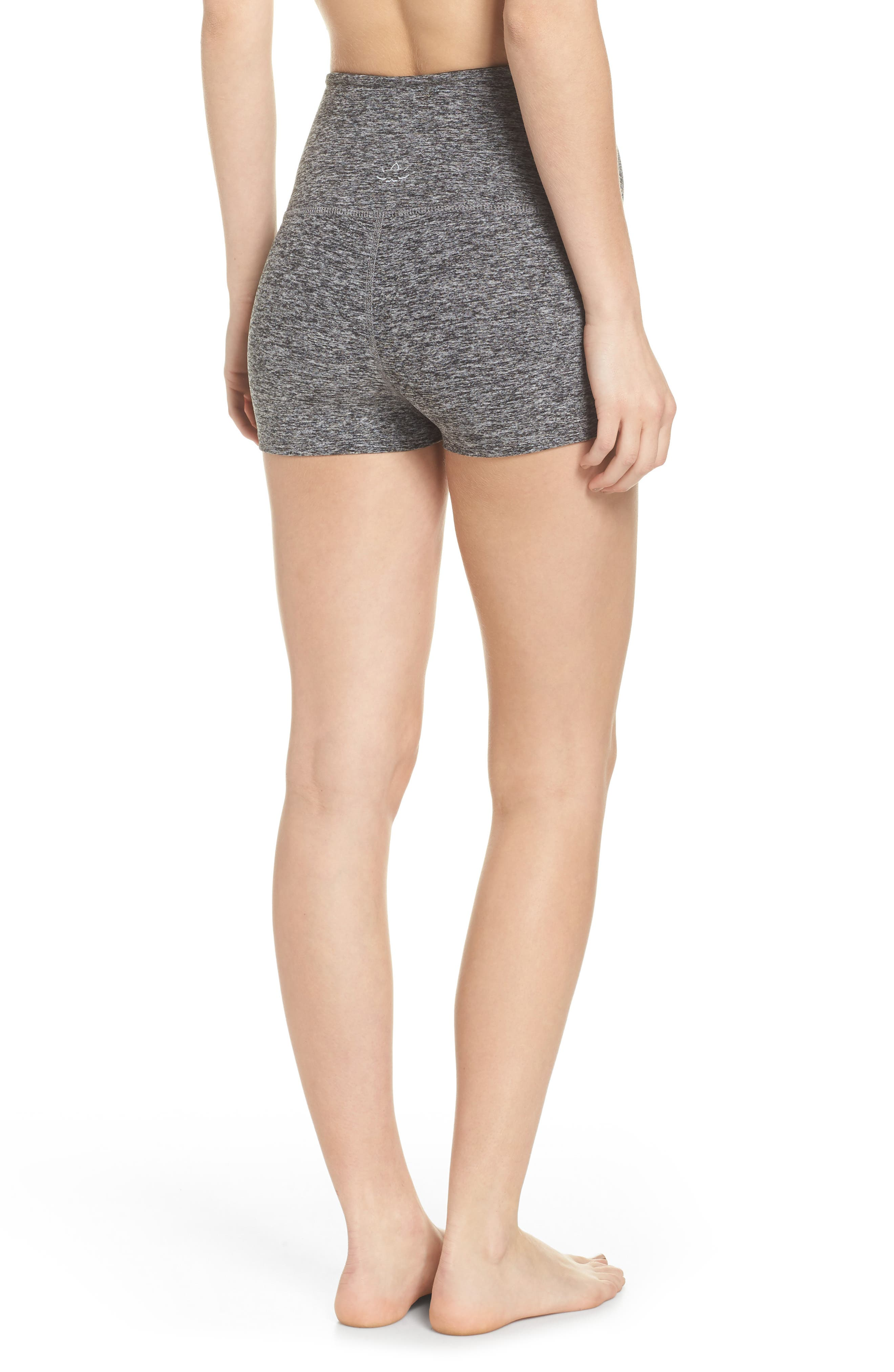 Space Dye Circuit High Waist Shorts by Beyond Yoga