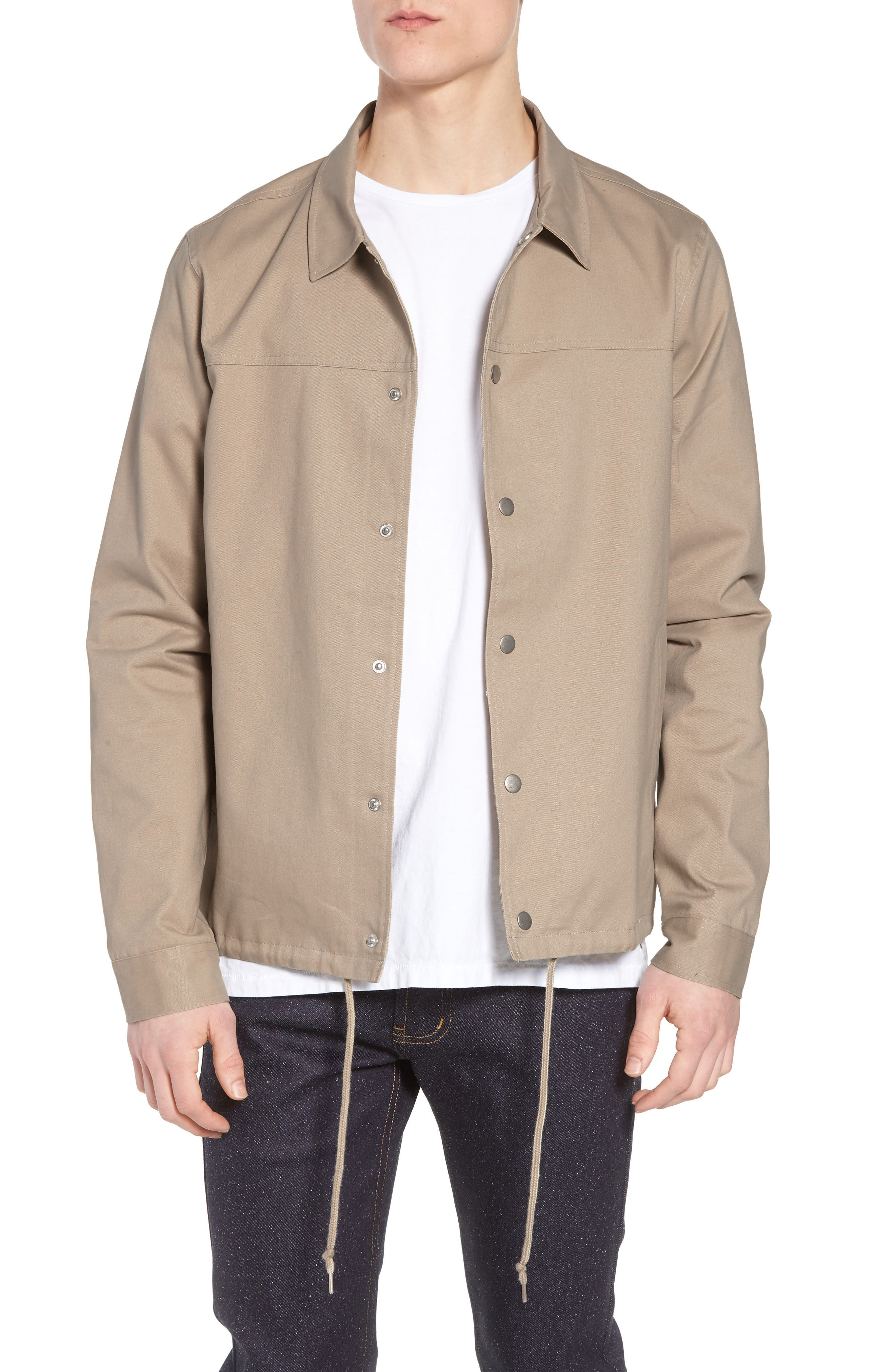 The Rail Snap Front Coach's Jacket