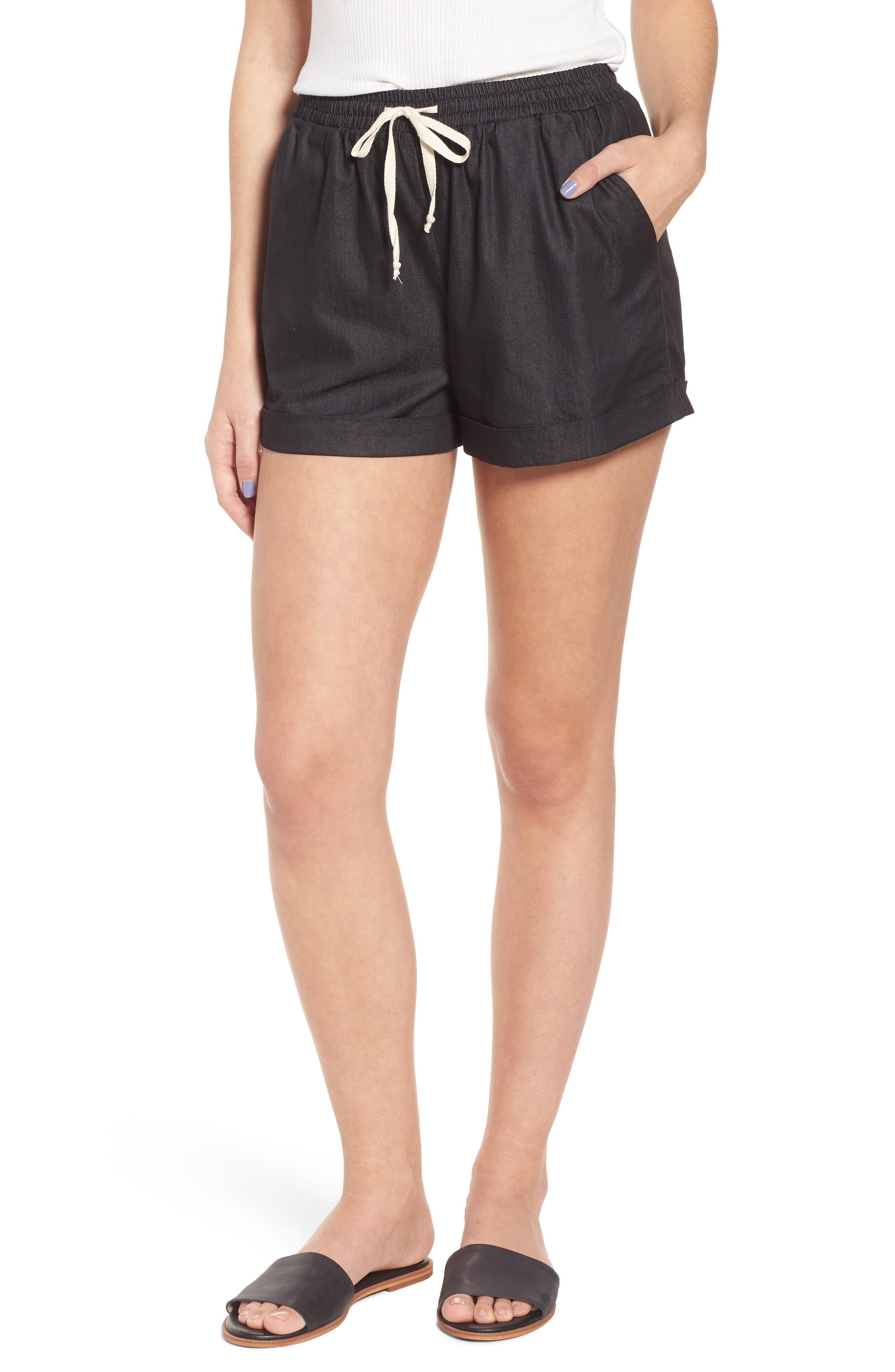 Getaway Shorts,                         Main,                         color, Black