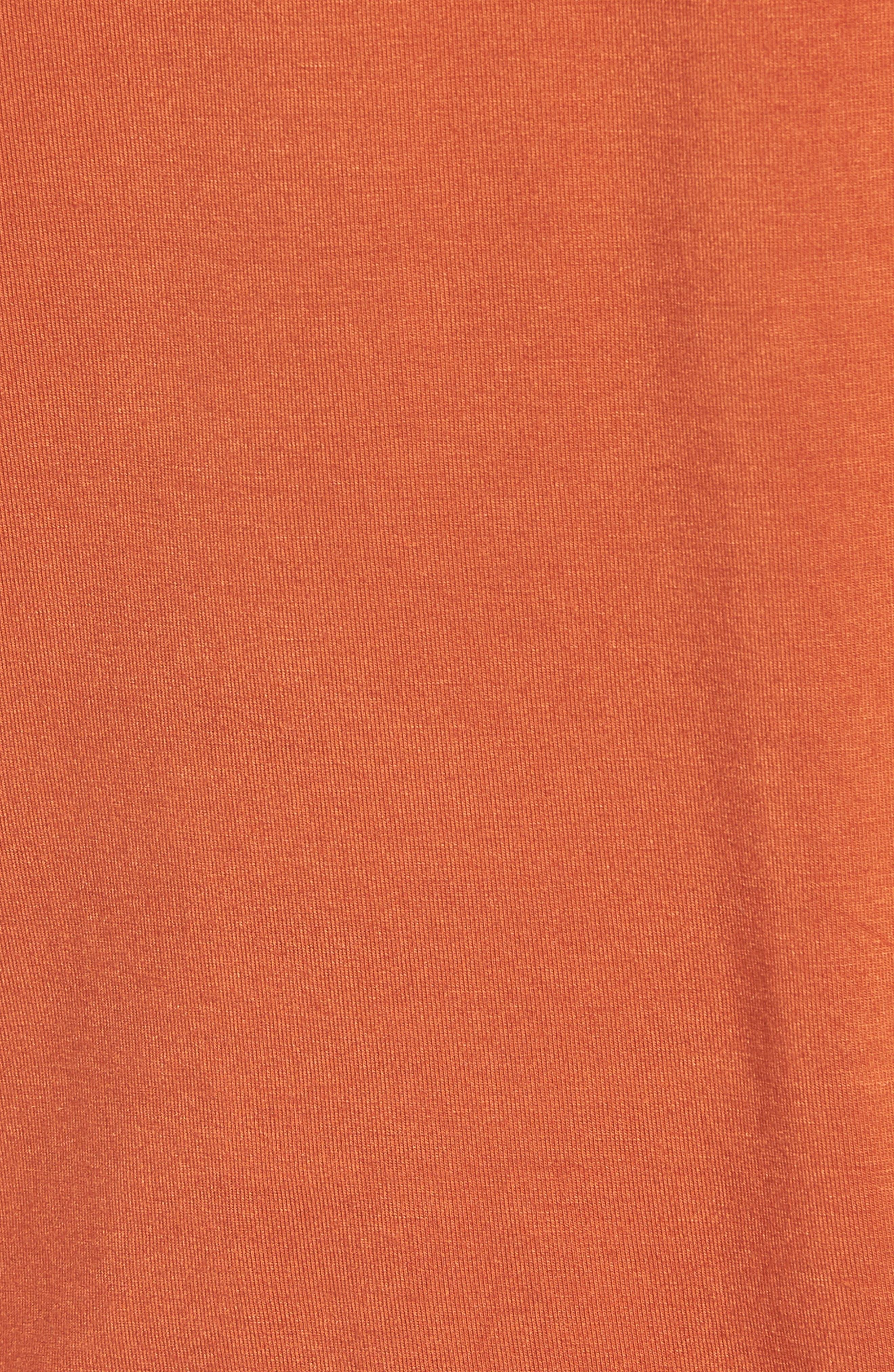 Summer Days & Double Plays Tee,                             Alternate thumbnail 6, color,                             Orange