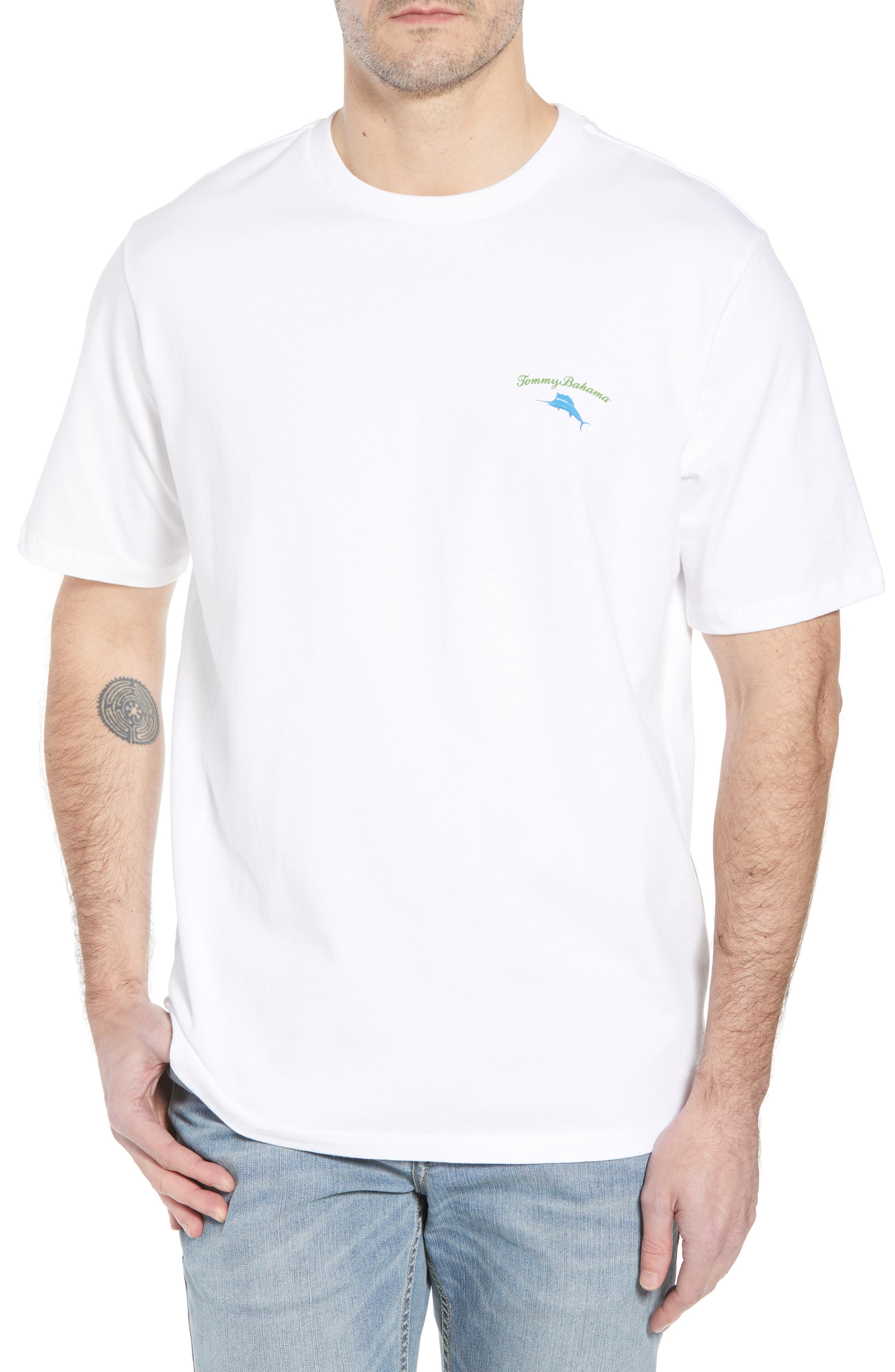 Alternate Image 1 Selected - Tommy Bahama Live the Island Life Graphic T-Shirt