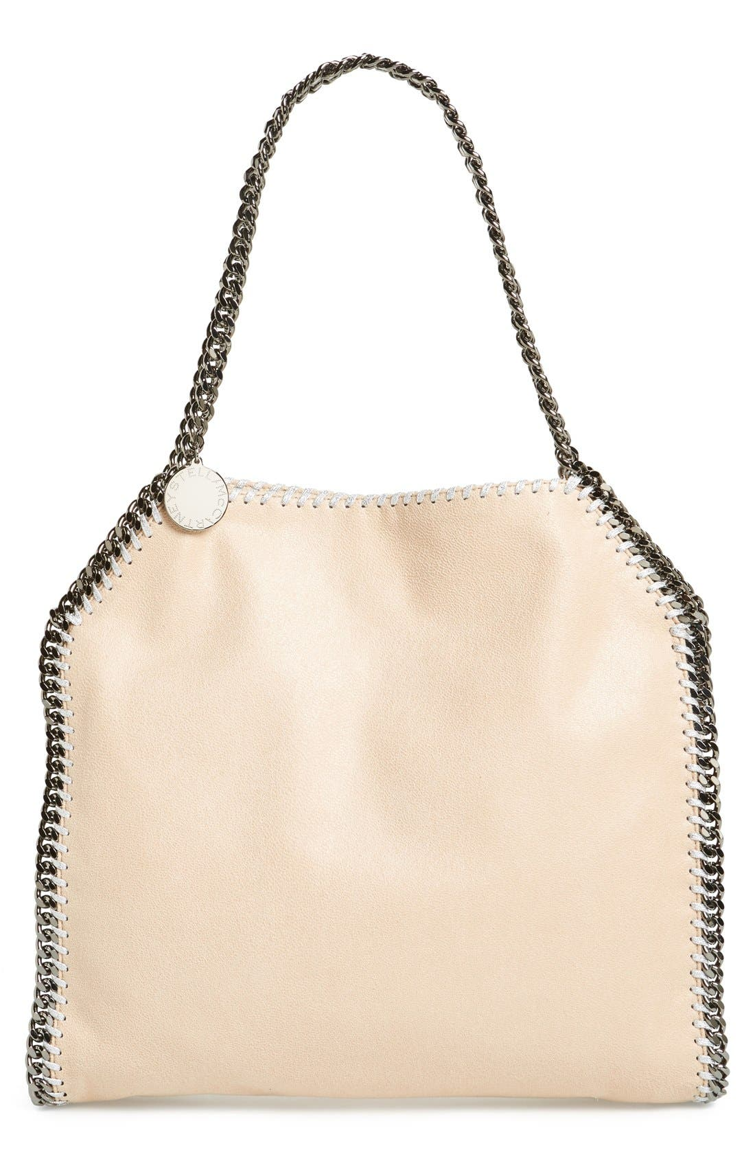 STELLA MCCARTNEY Small Falabella - Shaggy Deer Faux Leather Tote