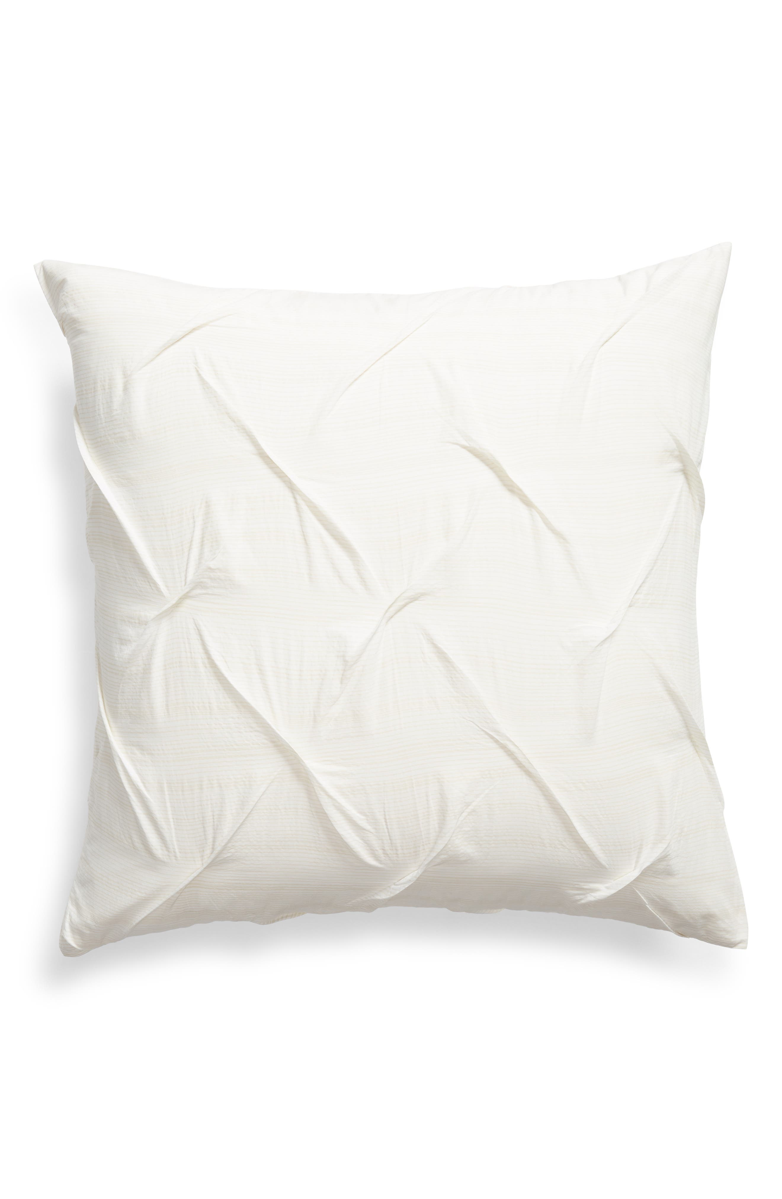 Main Image - Nordstrom at Home Kate Textured Cotton Sham