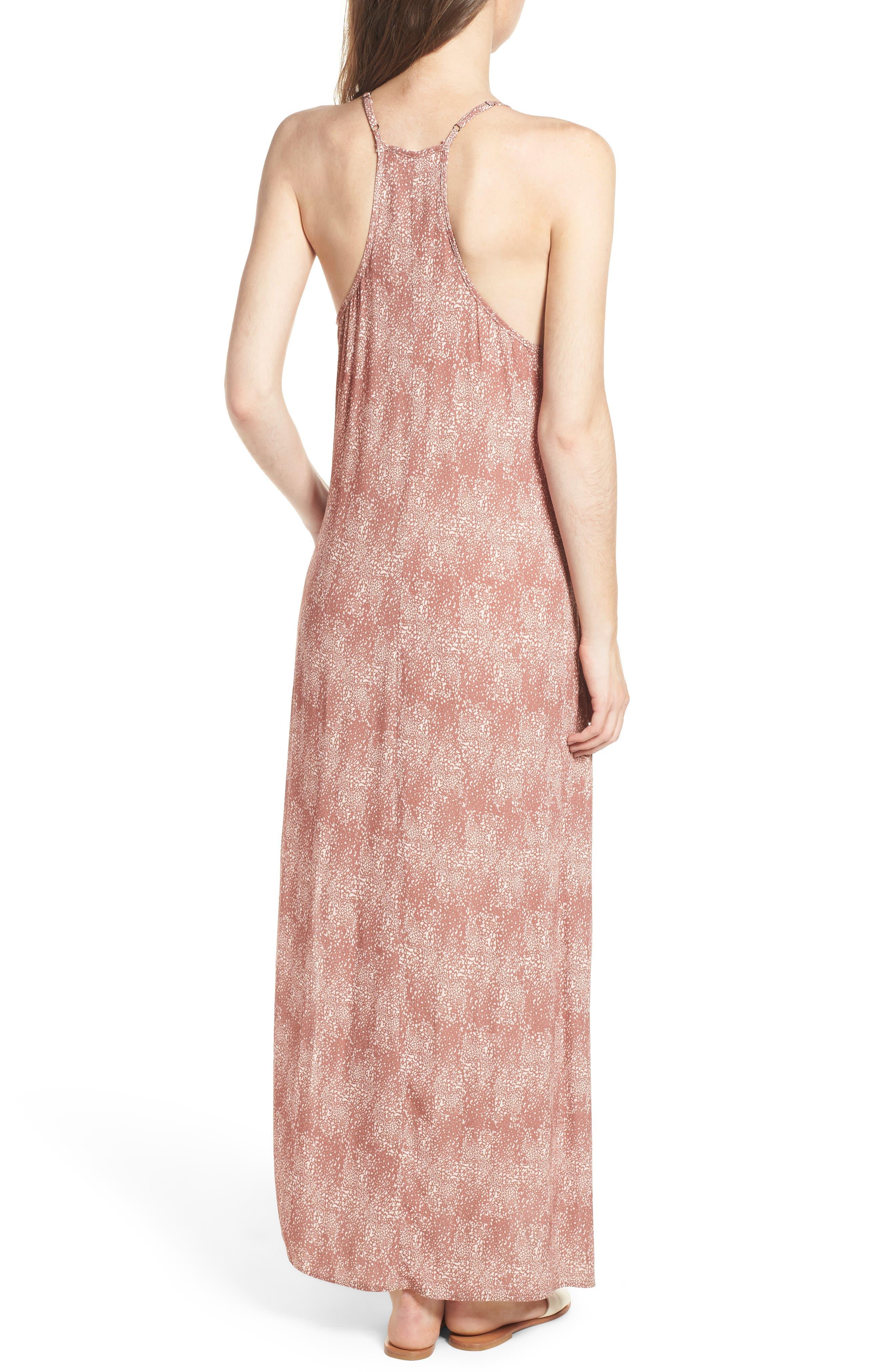 Misty Morning Maxi Dress,                             Alternate thumbnail 2, color,                             Nutmeg