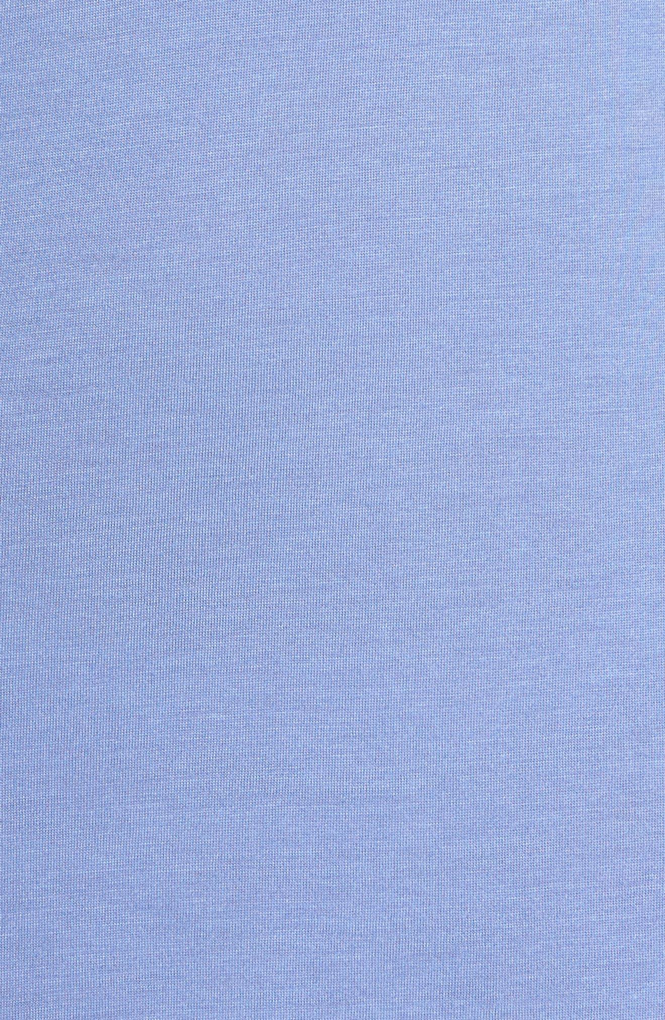 'Zen Floral' Chemise,                             Alternate thumbnail 5, color,                             Wedgewood