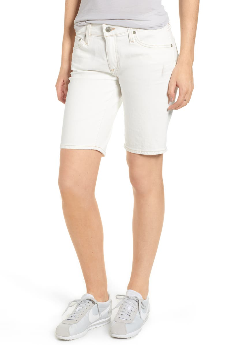 Nikki Denim Bermuda Shorts