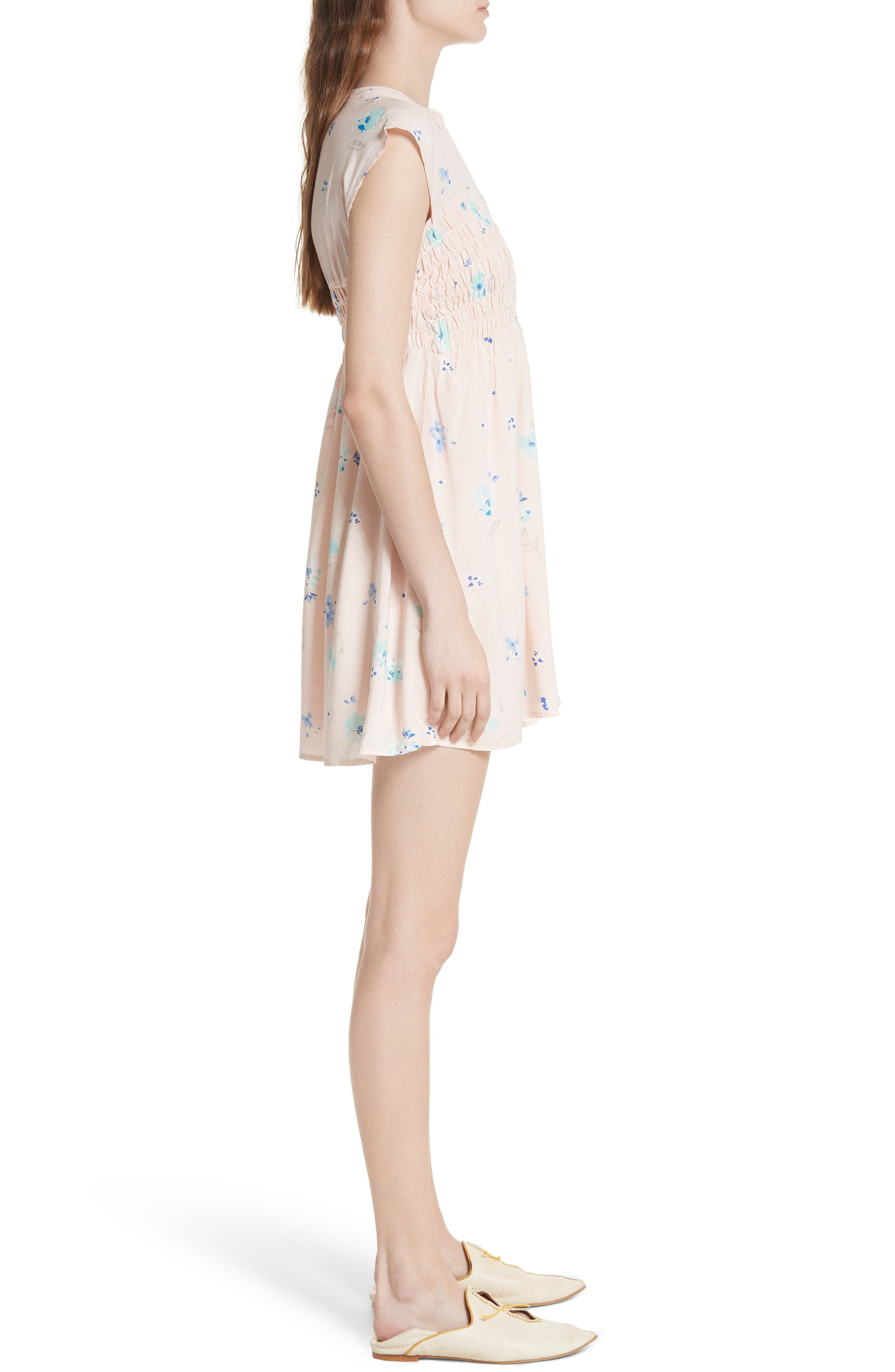Alternate Image 3  - Free People Greatest Day Smocked Minidress