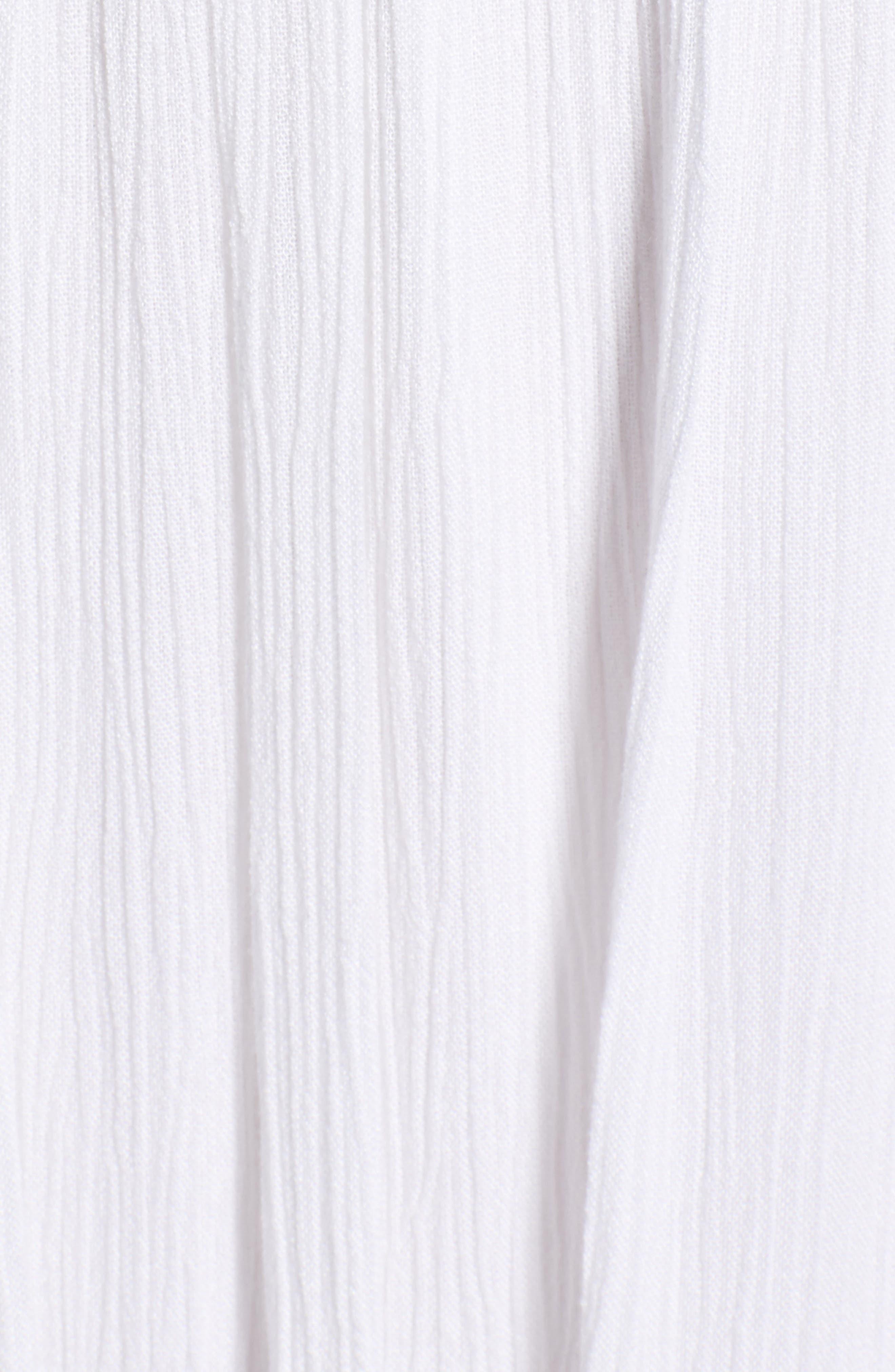 Bishop + Young Bora Bora Maxi Dress,                             Alternate thumbnail 6, color,                             White