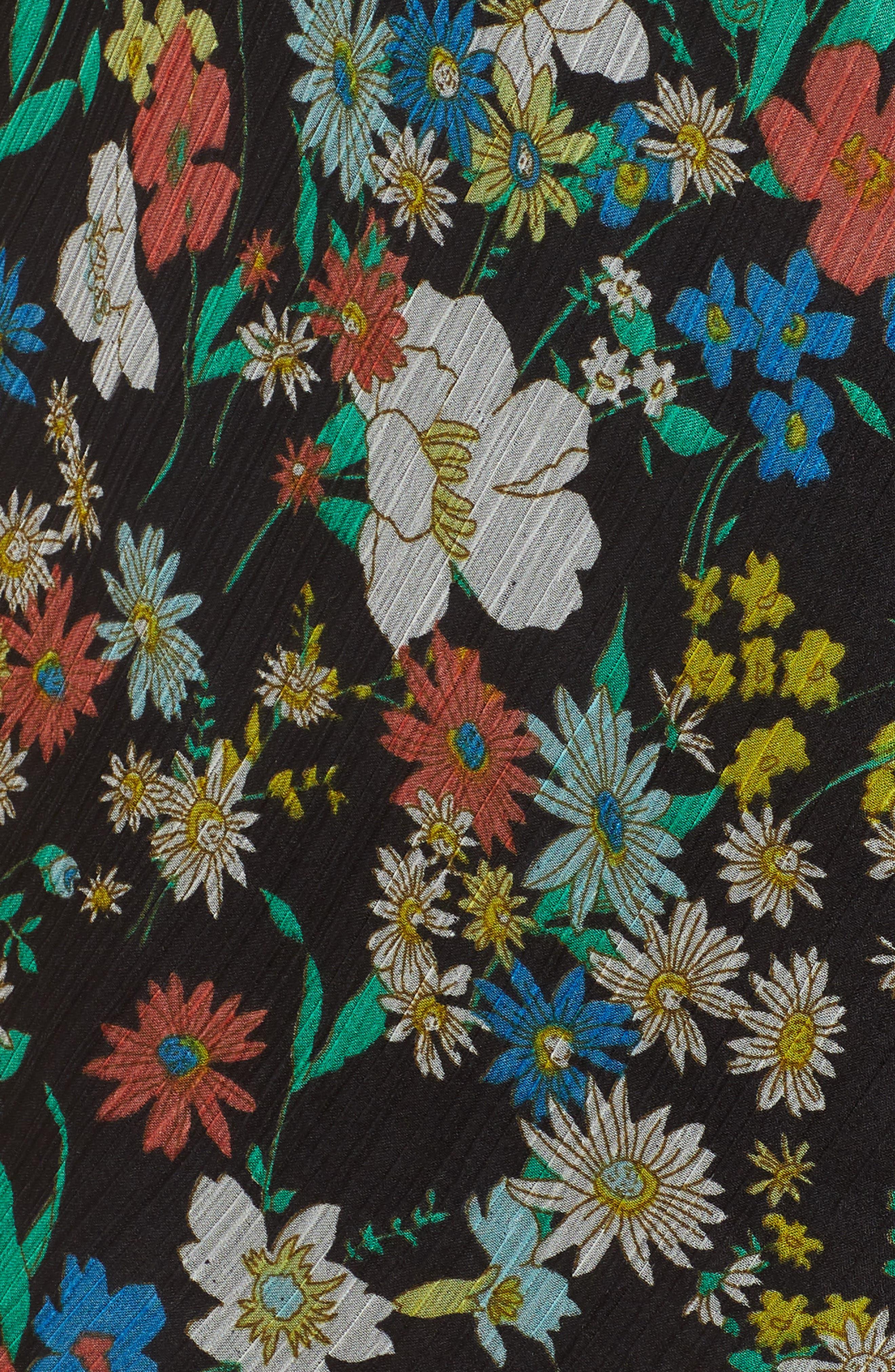 Alternate Image 5  - KENDALL + KYLIE Floral Ruffle Wrap Dress
