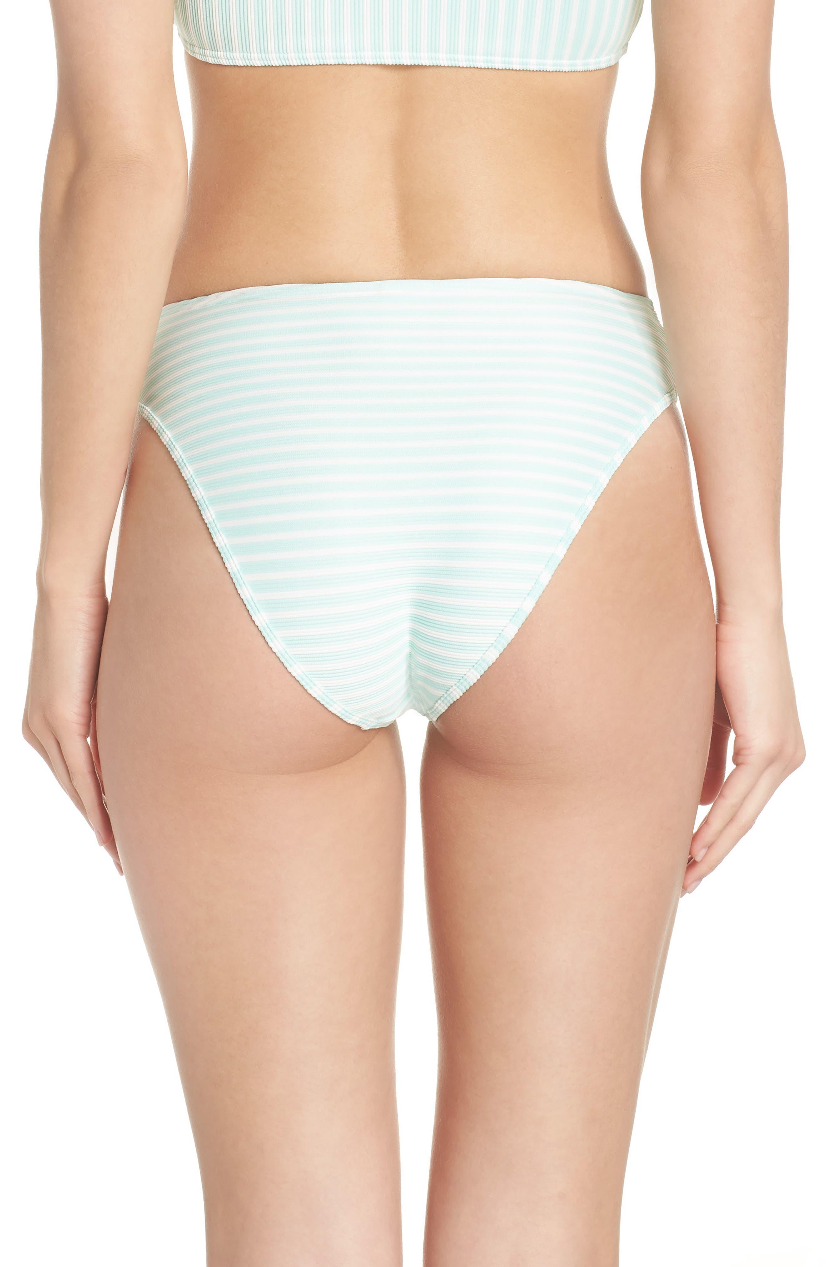 Pierre High Waist Bikini Bottoms,                             Alternate thumbnail 2, color,                             Spearmint