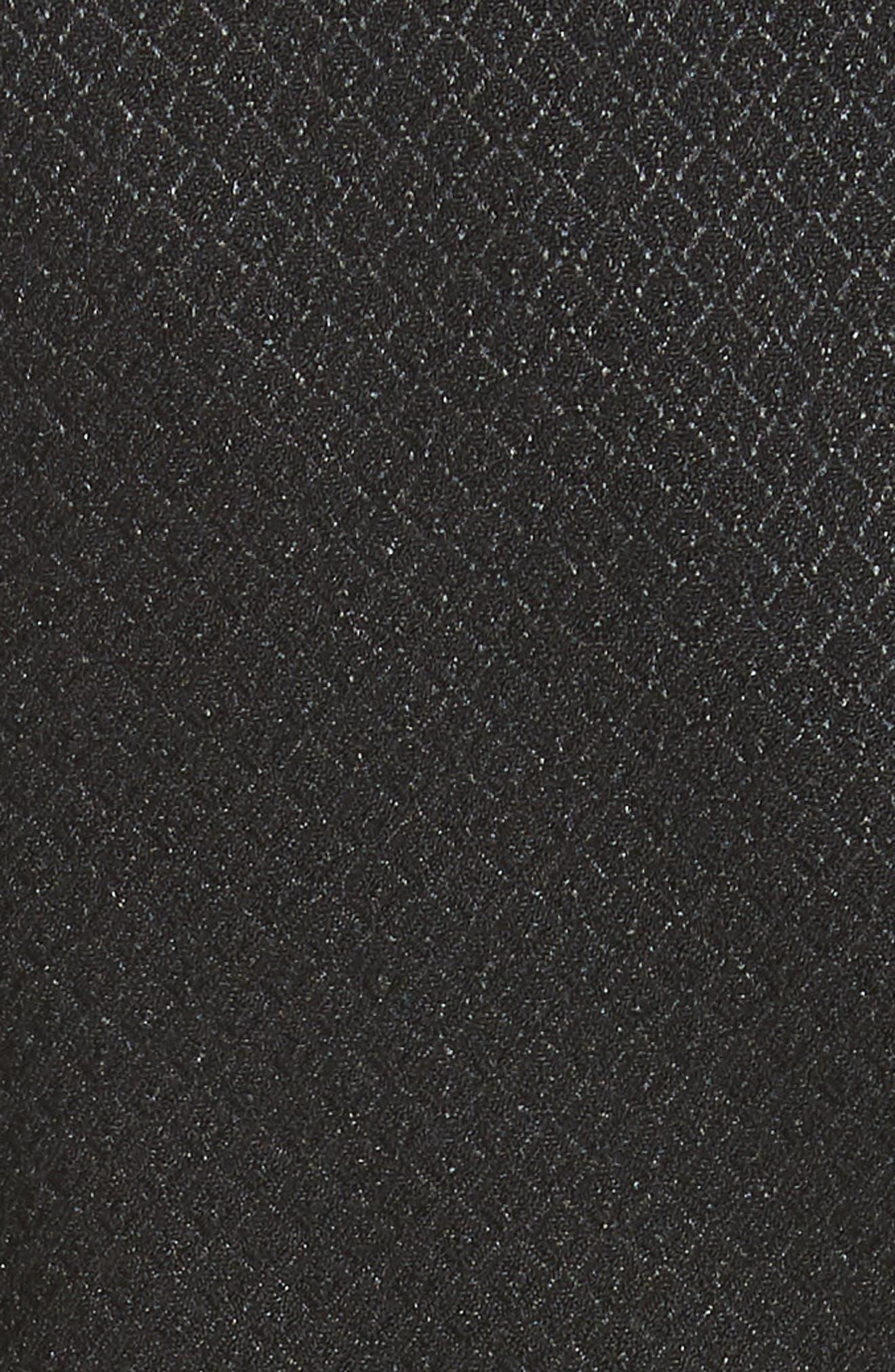 Textured Jacket,                             Alternate thumbnail 5, color,                             Black