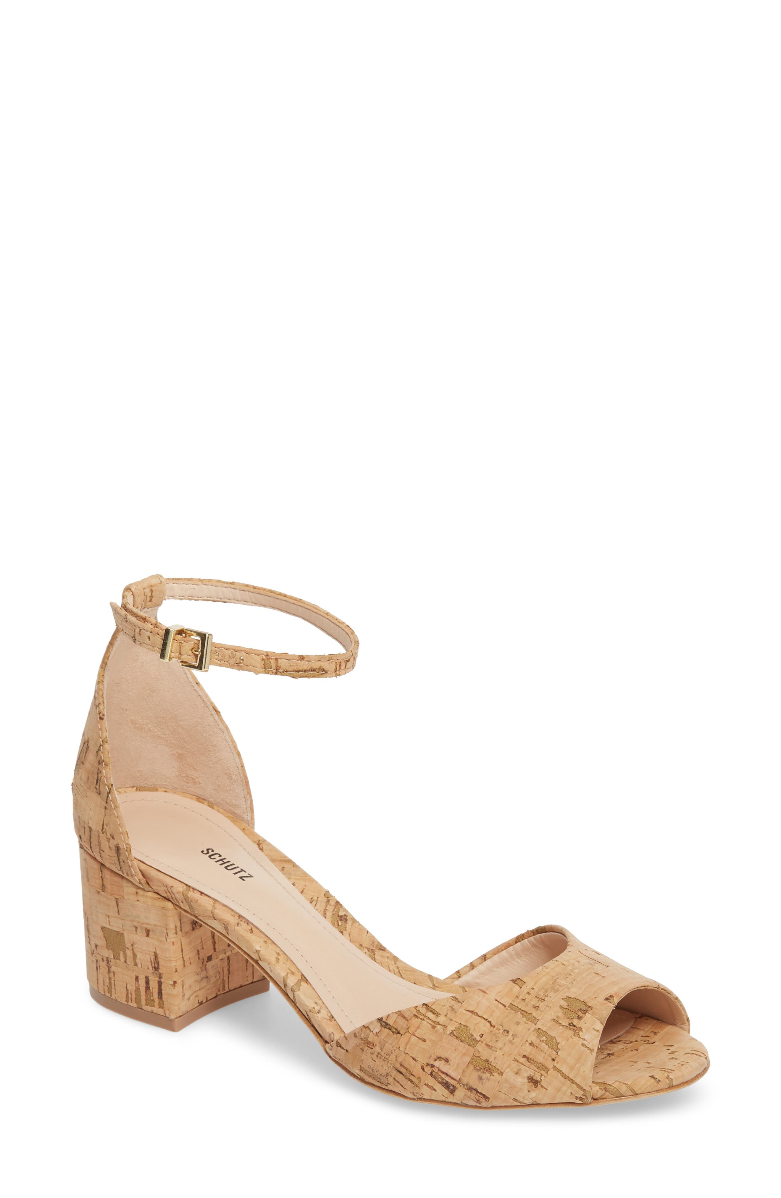 Roama Block Heel Sandal,                         Main,                         color, Natural