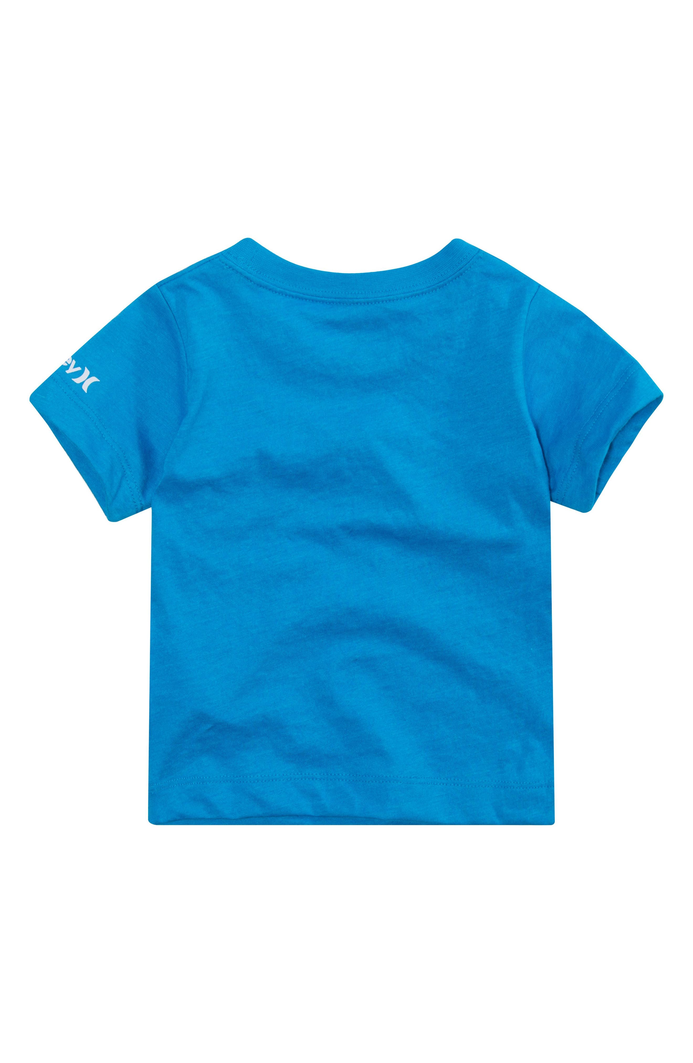 Surf & Enjoy Graphic T-Shirt,                             Alternate thumbnail 2, color,                             Blue Lagoon Heather